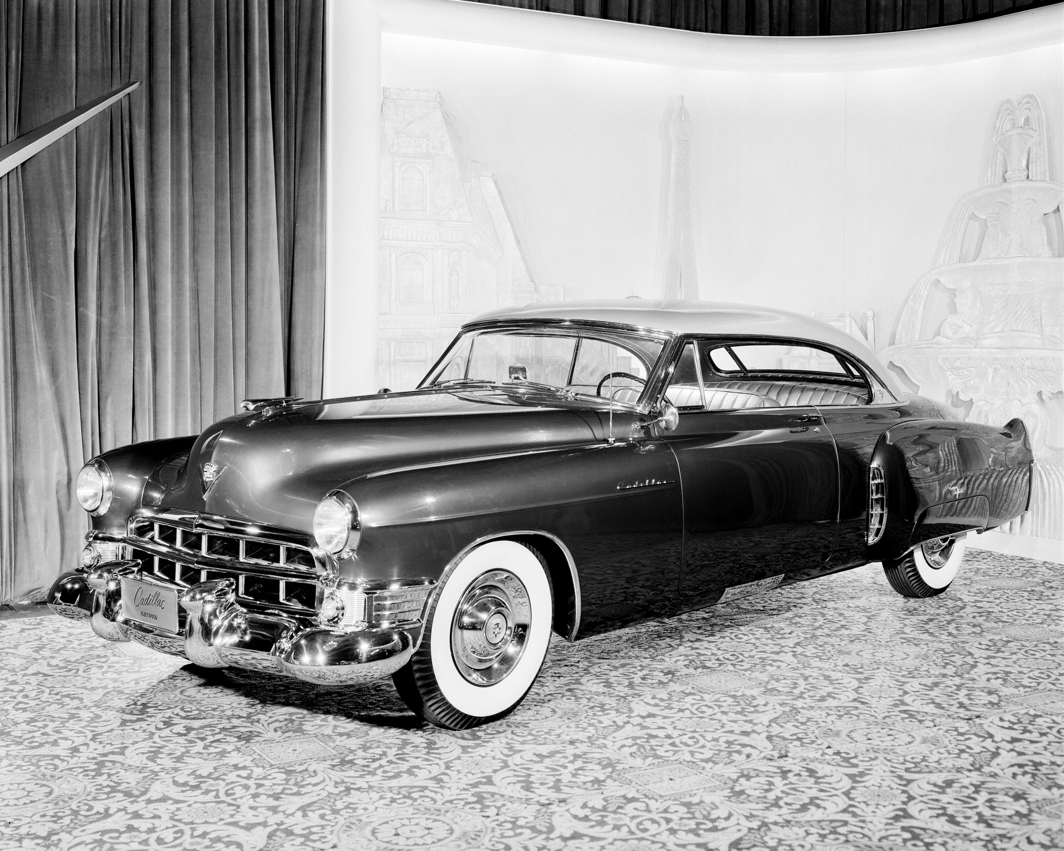 Cadillac Coupe De Ville Prototype First Public Showing In