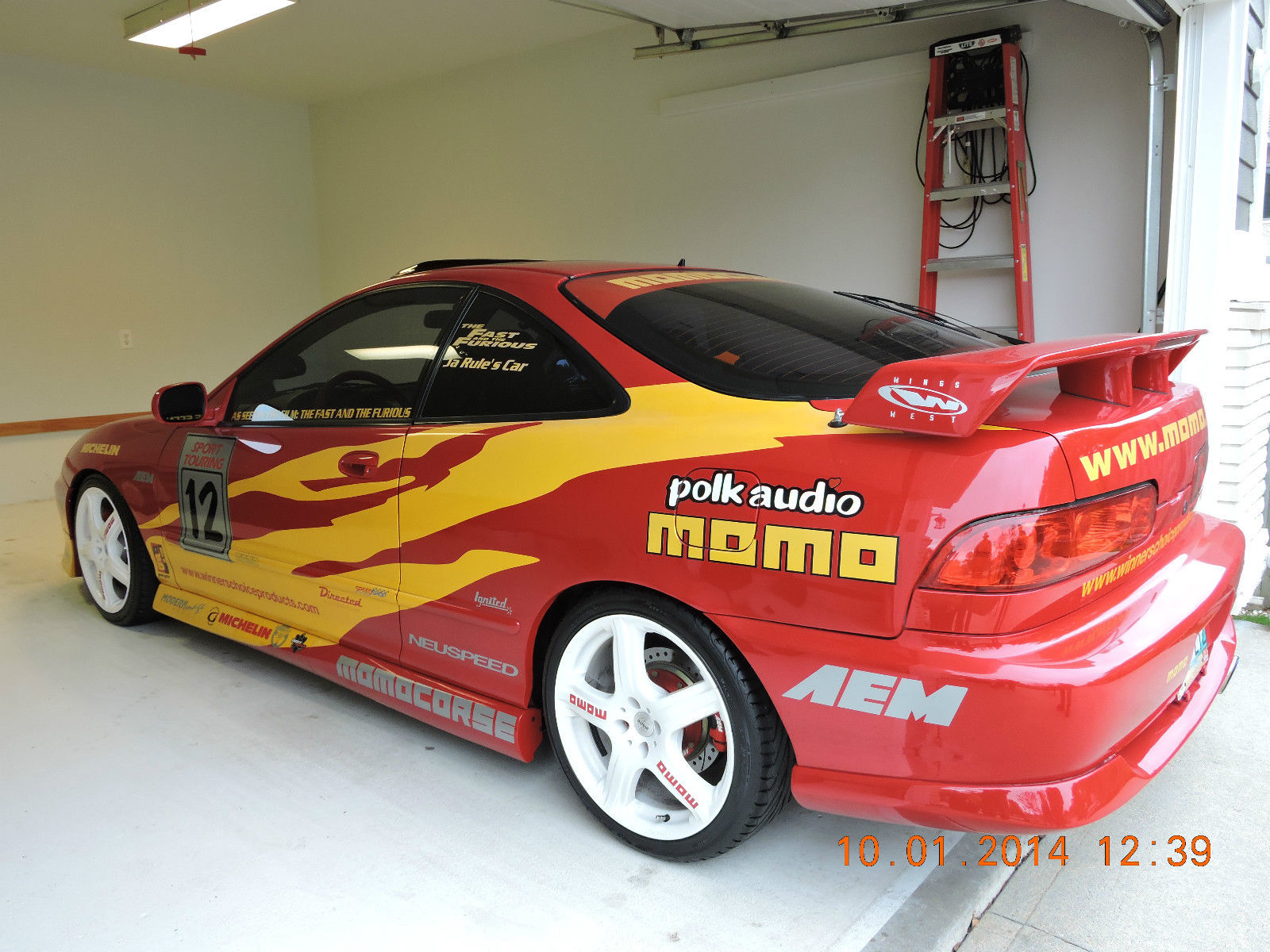1095195 acura Integra From The Fast And The Furious For Sale On Ebay on 1996 acura integra transmission