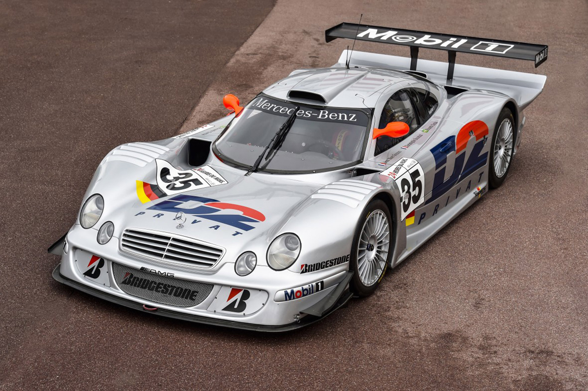 Assetto corsa rf2 mercedes clr lm previews virtualr for Mercedes benz race
