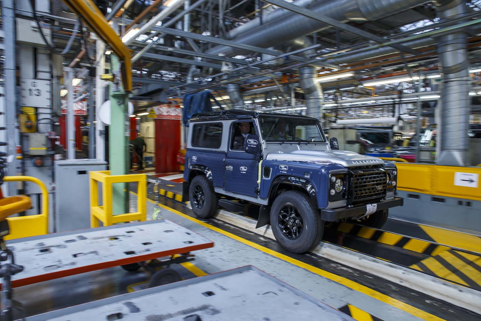 Jaguar Land Rover Plant In Slovakia Confirmed Starts Production In 2018