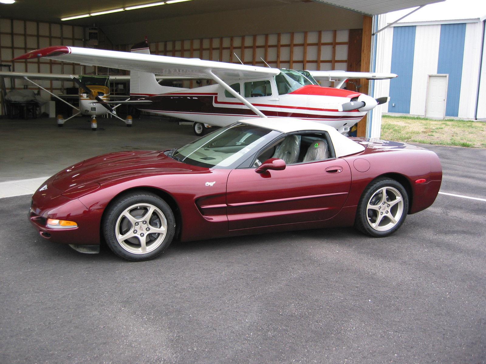 Brand-new, 57-mile 50th Anniversary Corvette on eBay