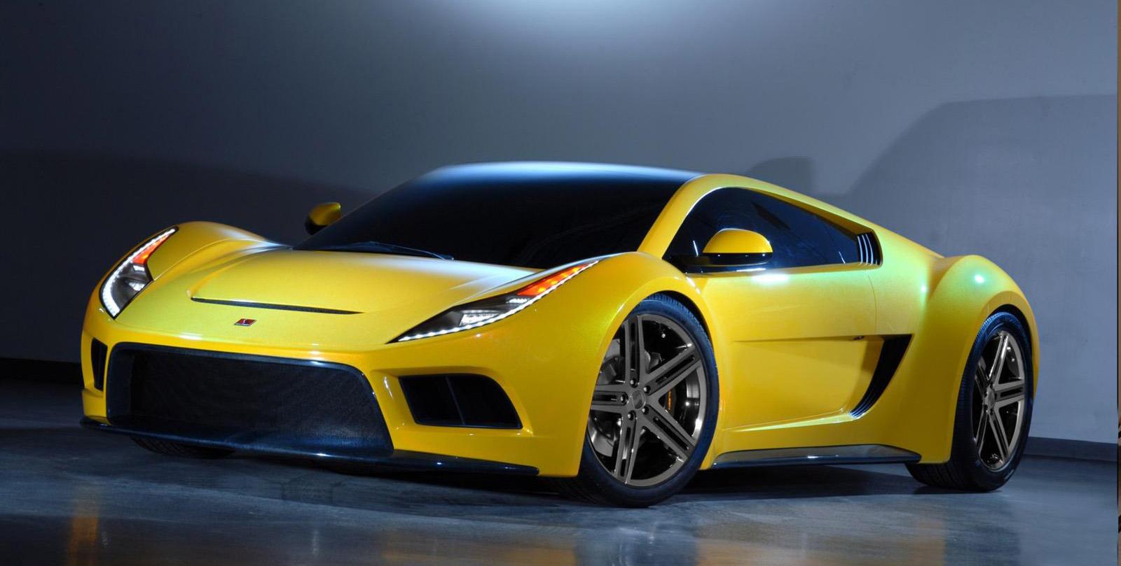 Saleen S5s Raptor Supercar Concept