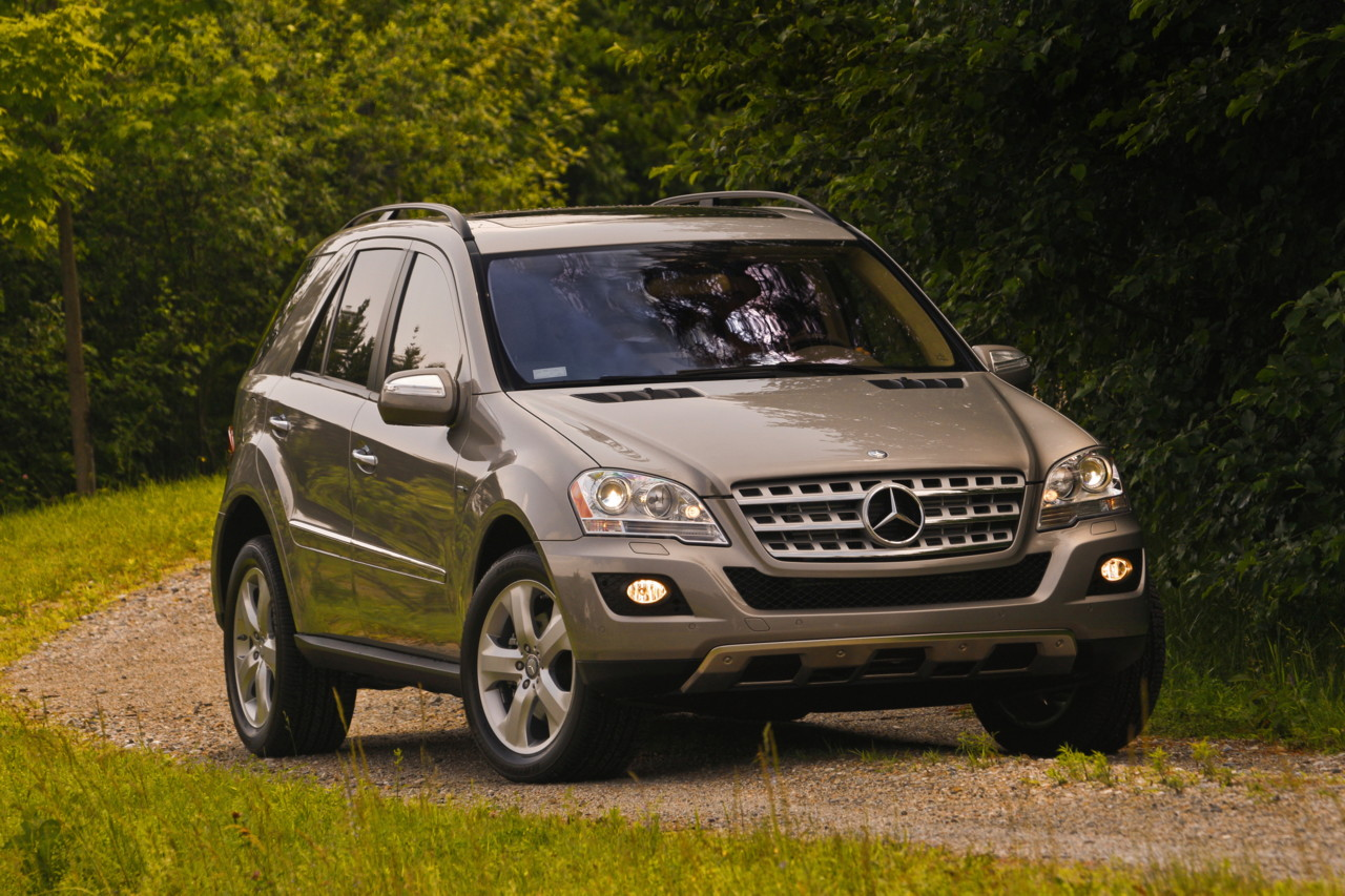 driven 2010 mercedes benz ml350 bluetec. Black Bedroom Furniture Sets. Home Design Ideas