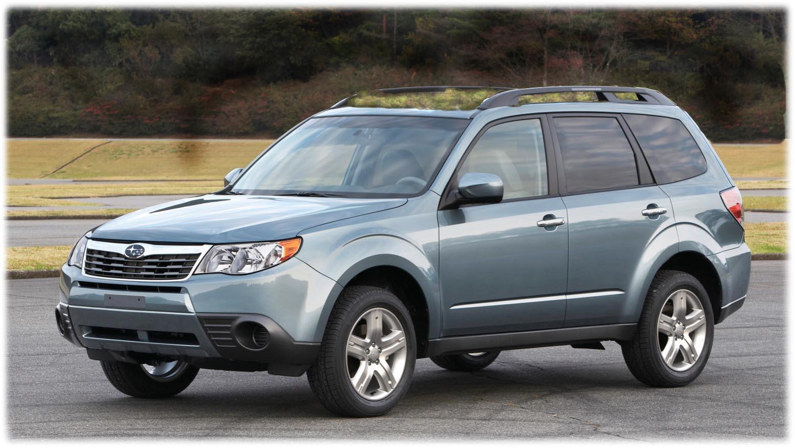 2010 subaru forester 25xt family car review 2010 subaru forester gets revolutionary green roof option vanachro Gallery