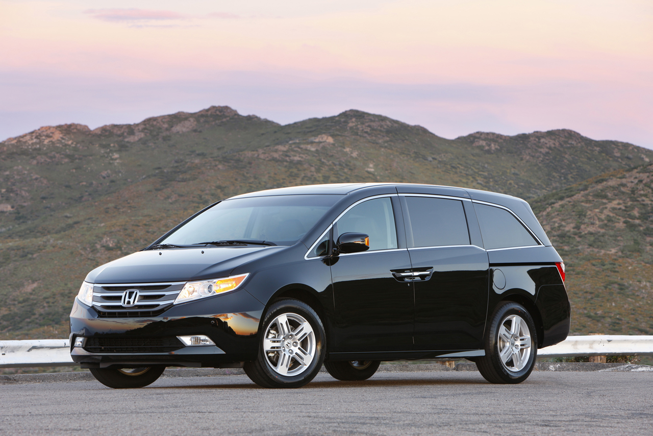 2011 Honda Odyssey Touring Elite Top Line Model Is Most