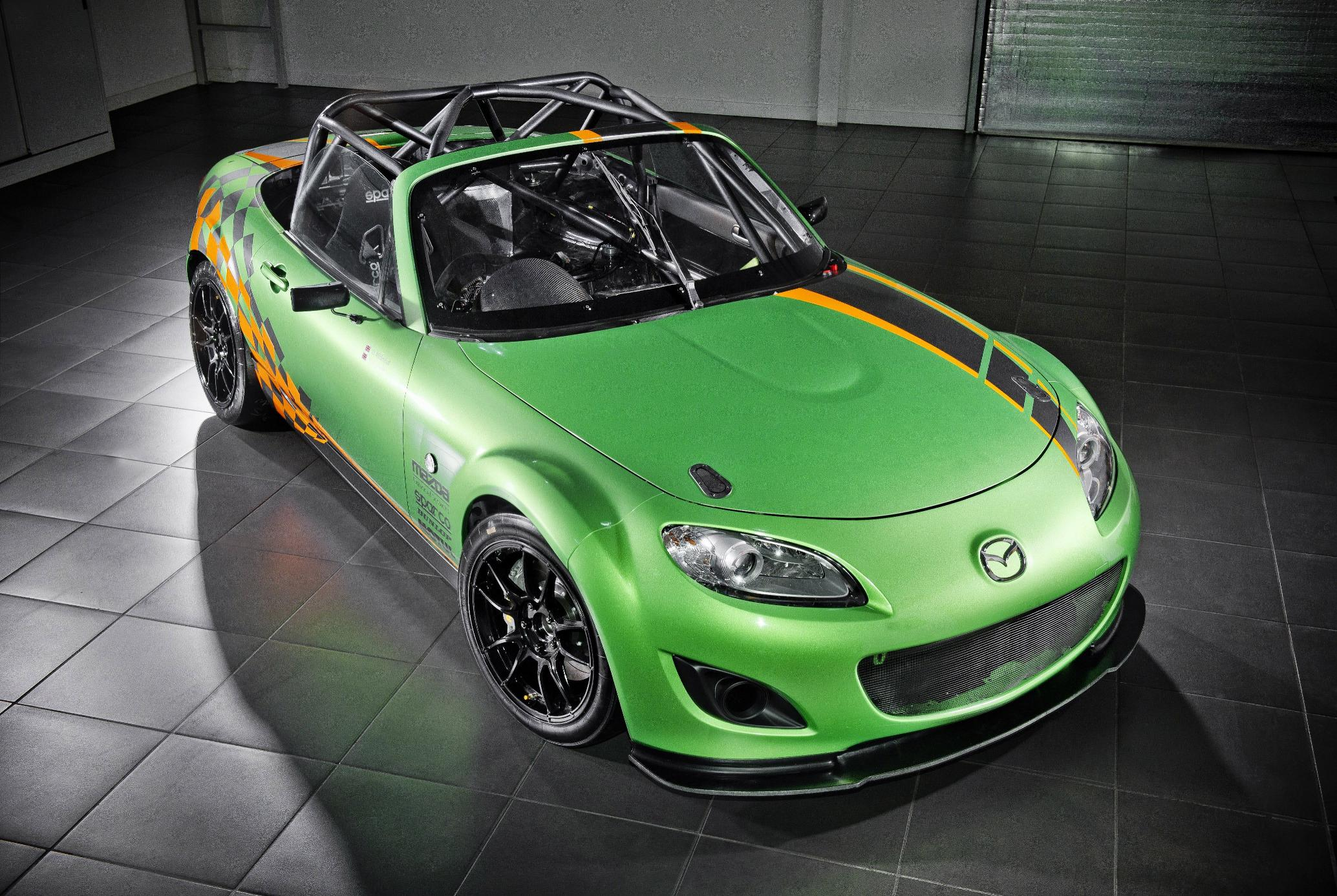 Track Only 320 Hp Mazda Mx 5 Gt4 Unveiled