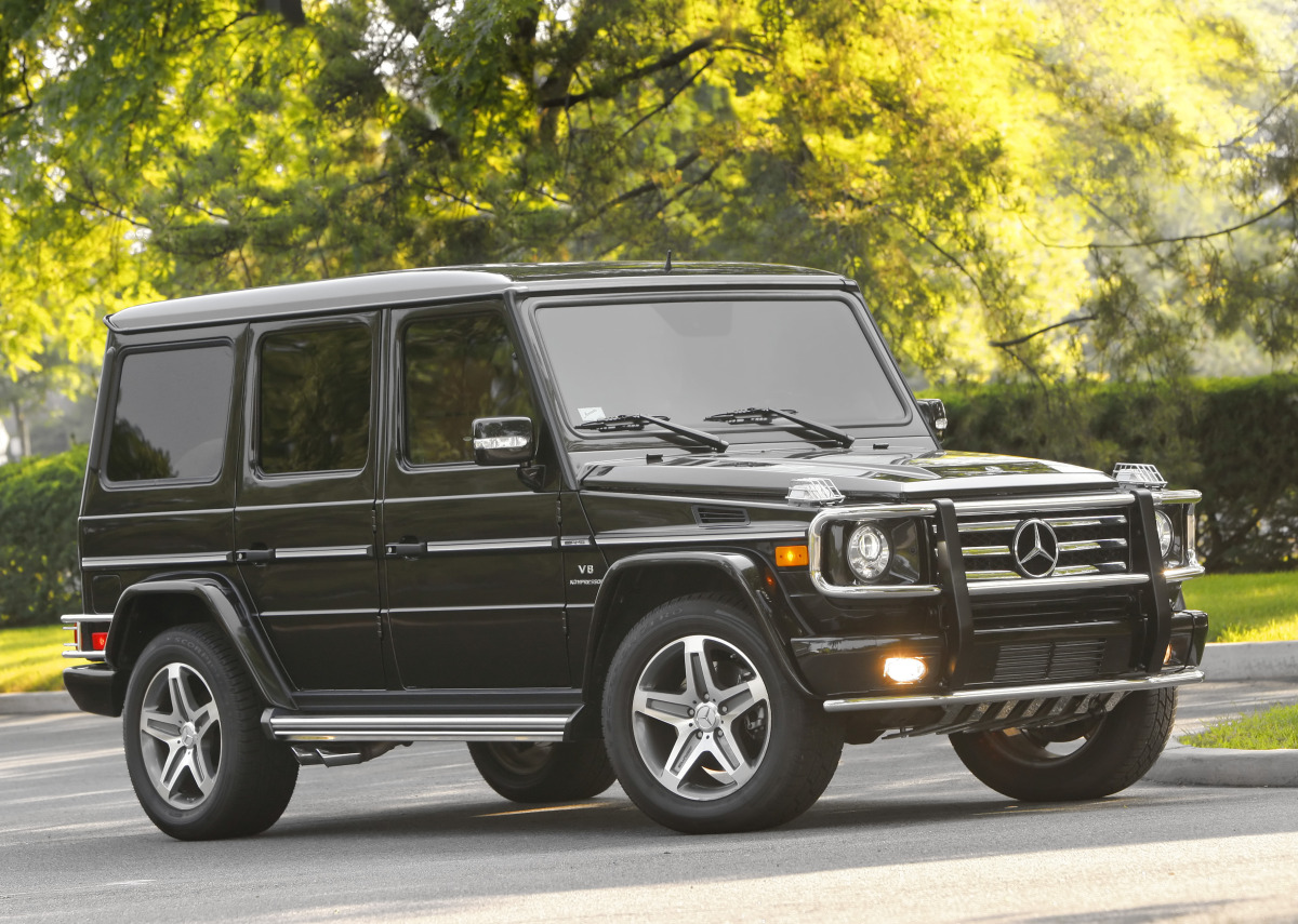 Mercedes Benz Working On G65 Amg V 12 Suv