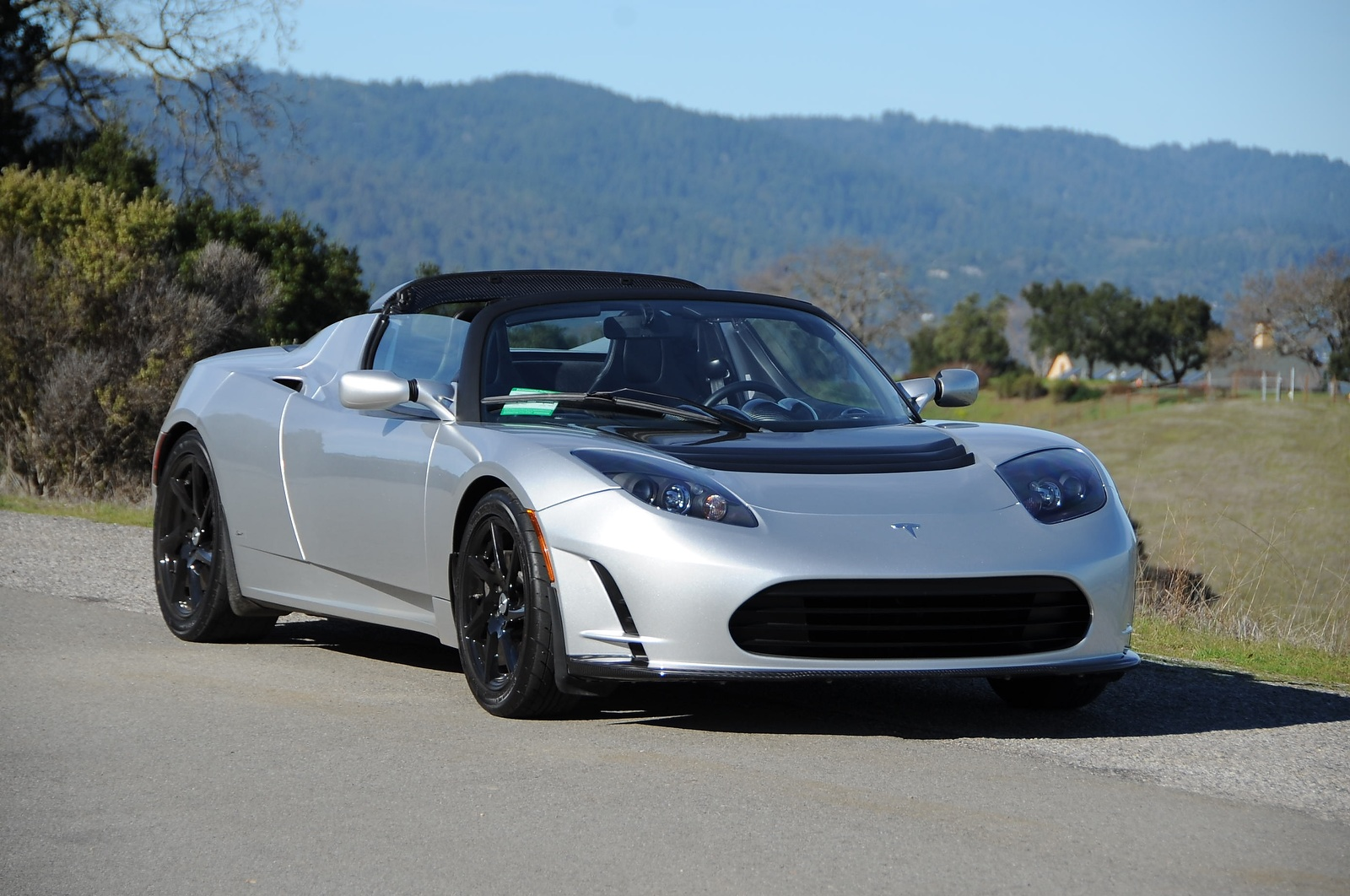 new tesla car release dateTesla Roadster 30 70kWh Battery Aero Kit New Tires For 400