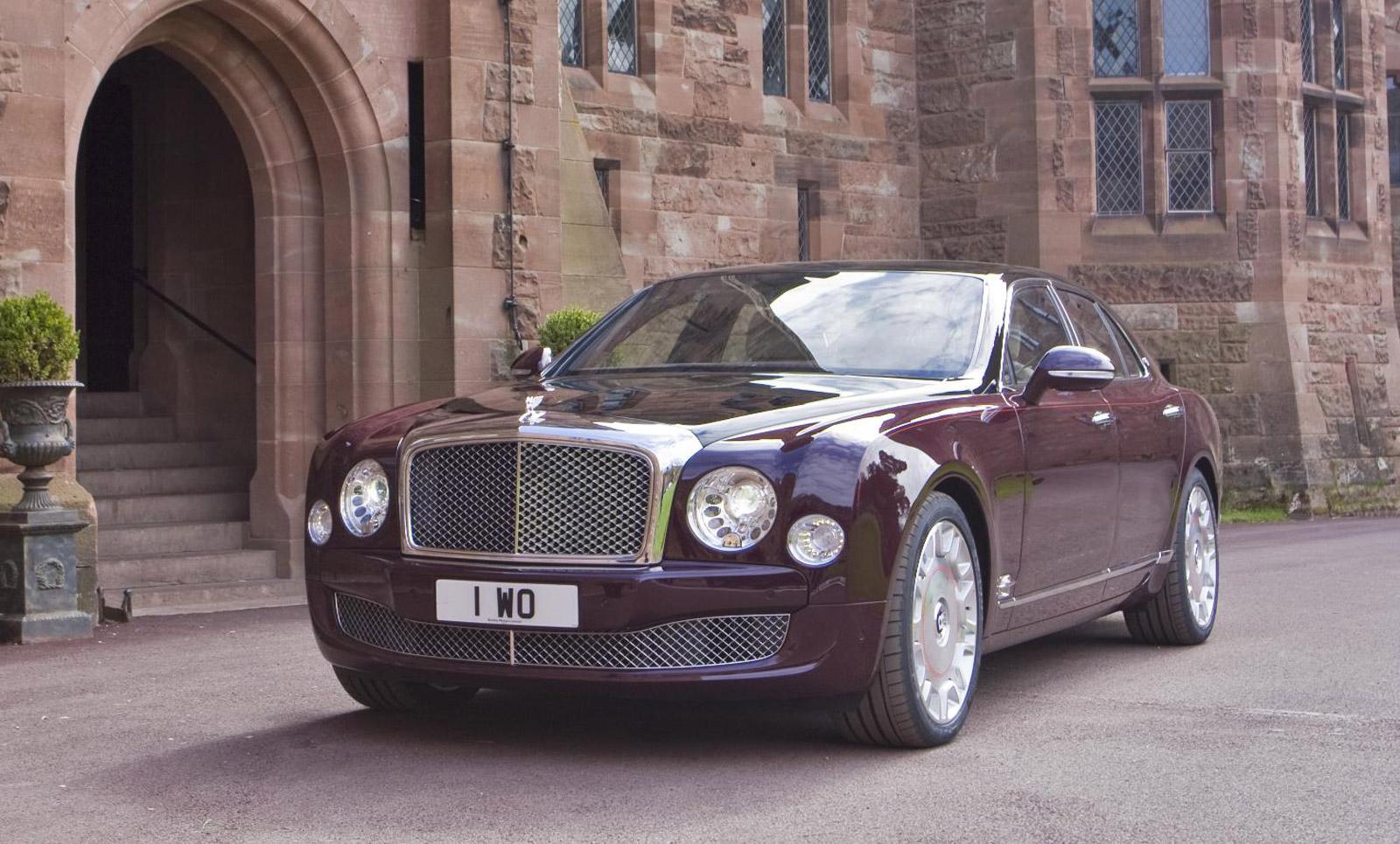 Nissan Frontier Pro 4X >> Bentley Honors The Queen's Diamond Jubilee With Special ...