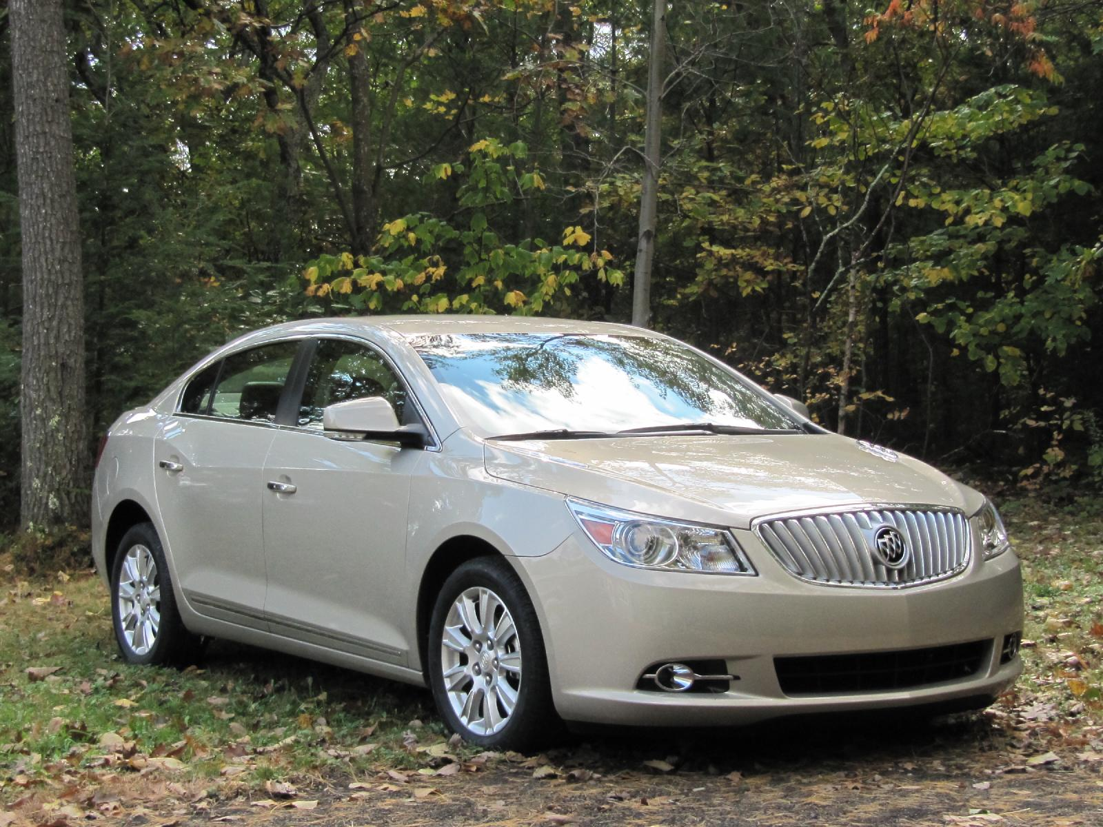2012 Buick Lacrosse With Eassist Mild Hybrid Weekend Drive