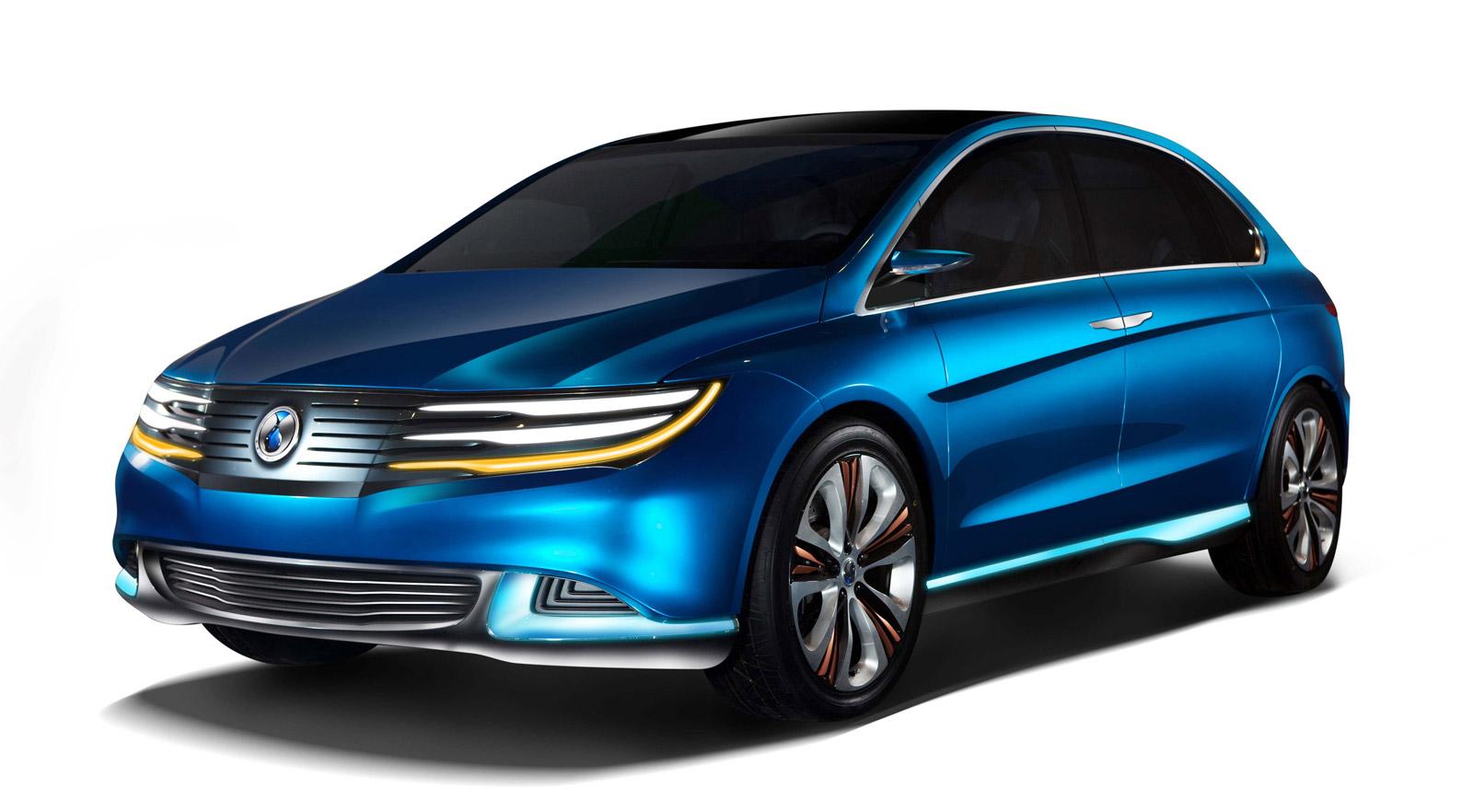 daimler u2019s denza shows new energy vehicle concept in beijing