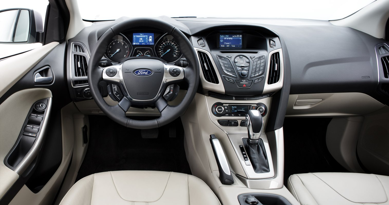 2012 Ford Focus Myford Versus Myford Touch