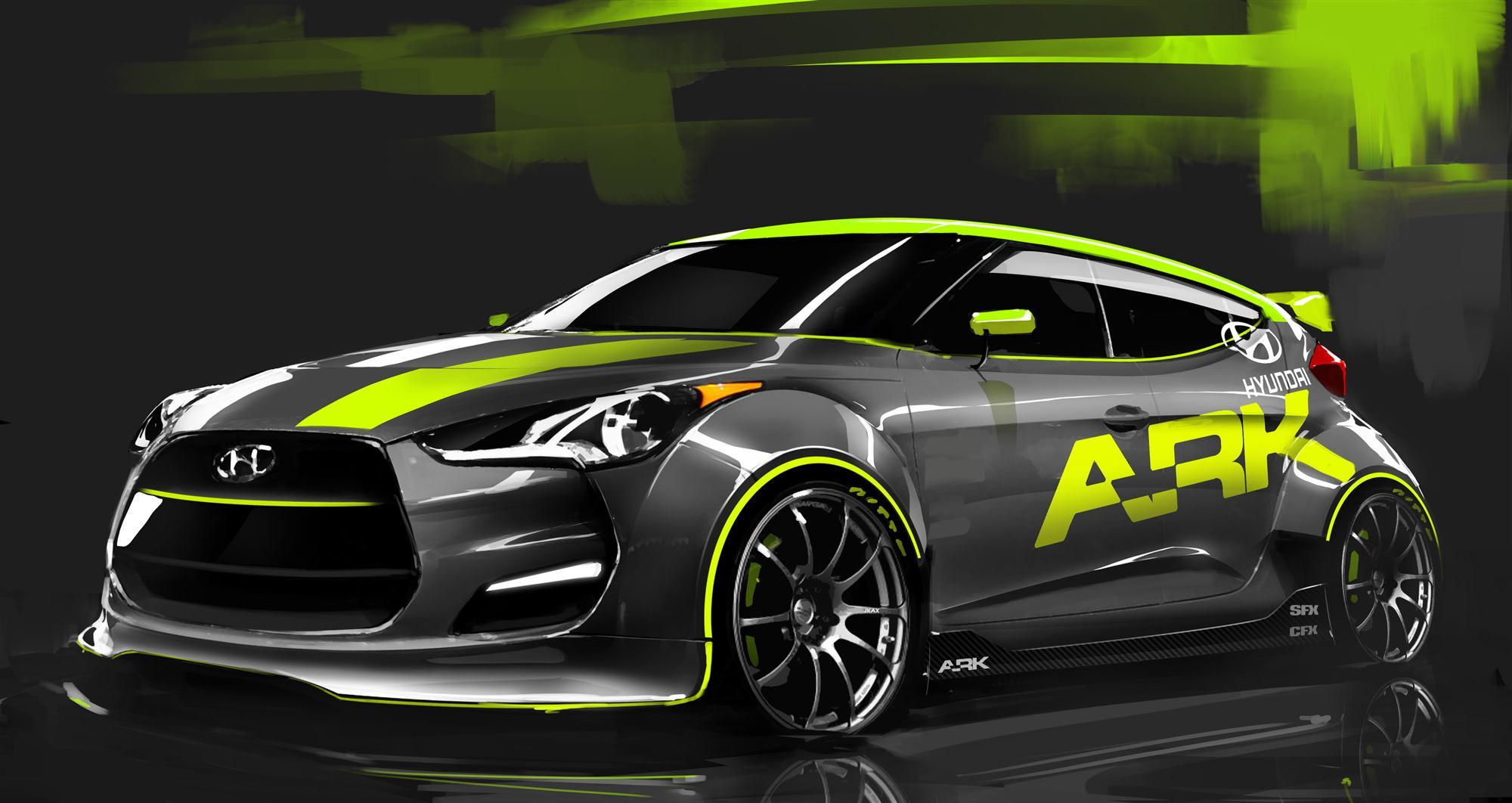 Rally Ready 2012 Hyundai Veloster Headed To Sema