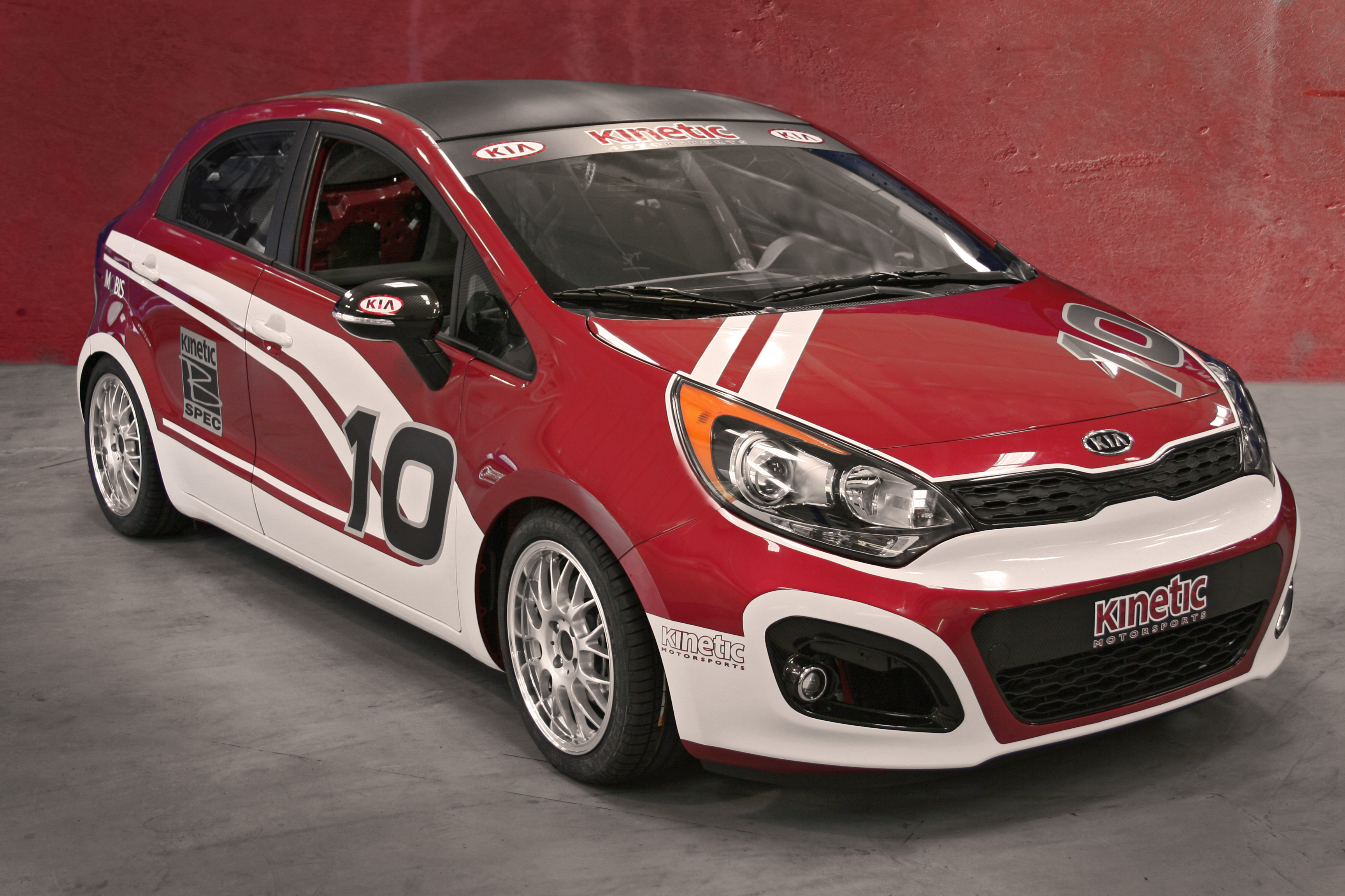 kia rio b spec race car to debut at 2011 sema. Black Bedroom Furniture Sets. Home Design Ideas