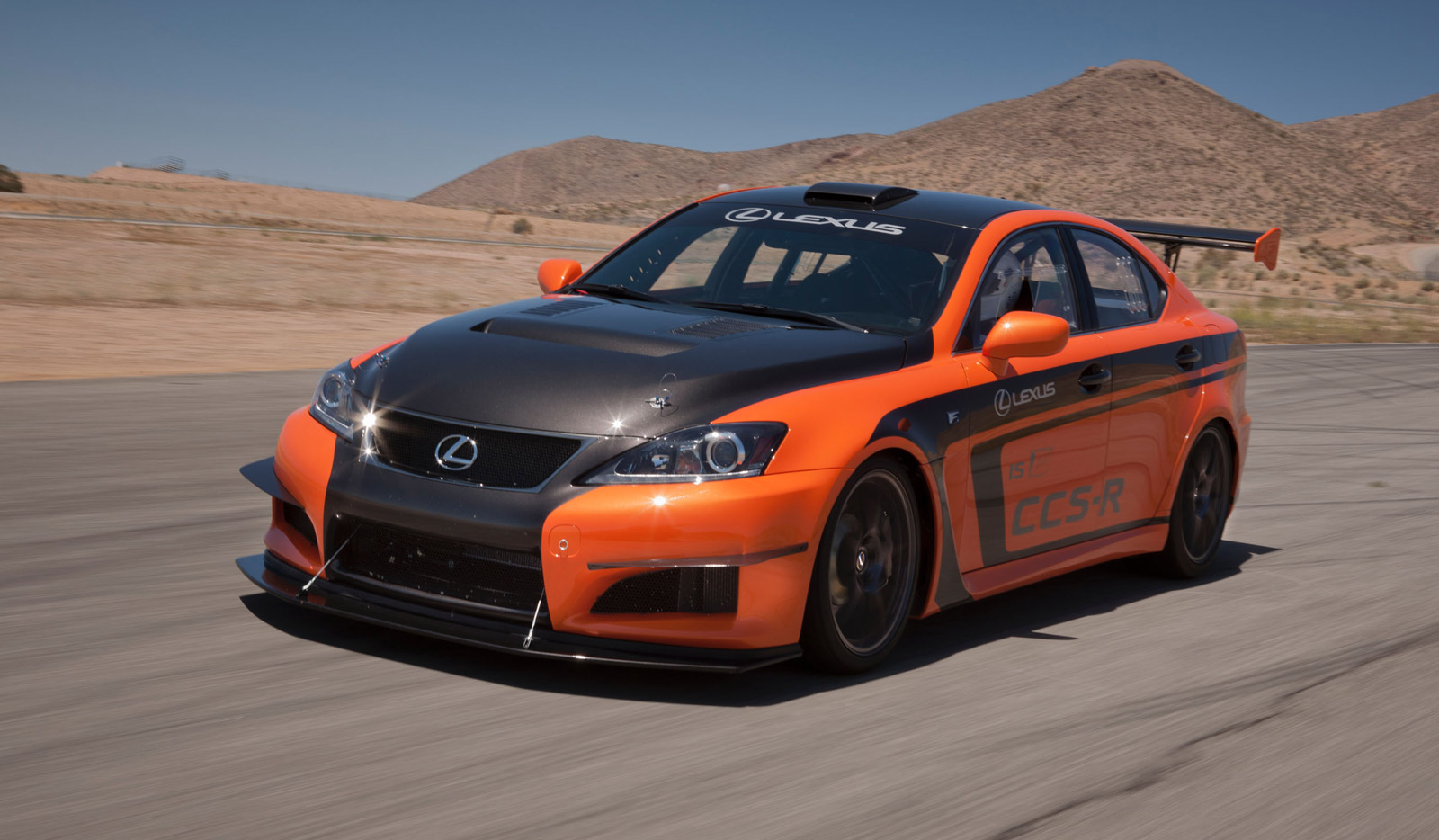 2012 lexus is f ccs r to tackle pikes peak hill climb. Black Bedroom Furniture Sets. Home Design Ideas