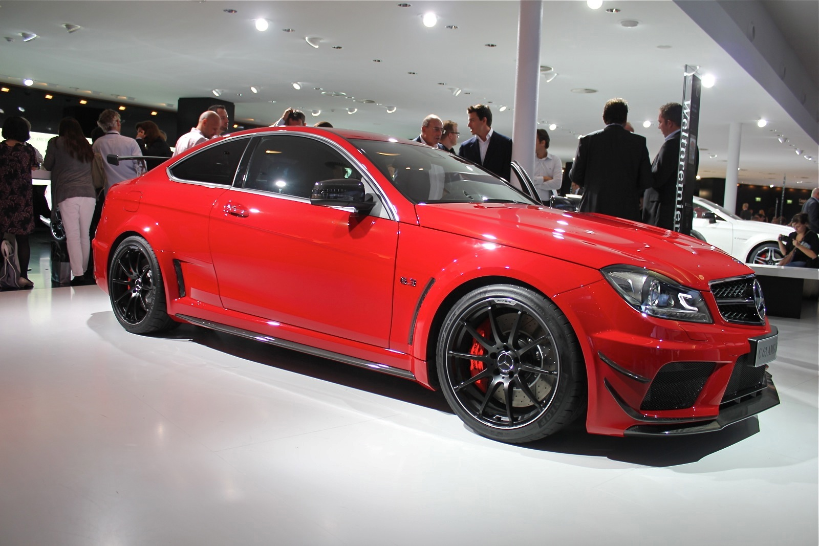 2012 mercedes benz c63 amg coupe black series live photos 2011 frankfurt auto show. Black Bedroom Furniture Sets. Home Design Ideas