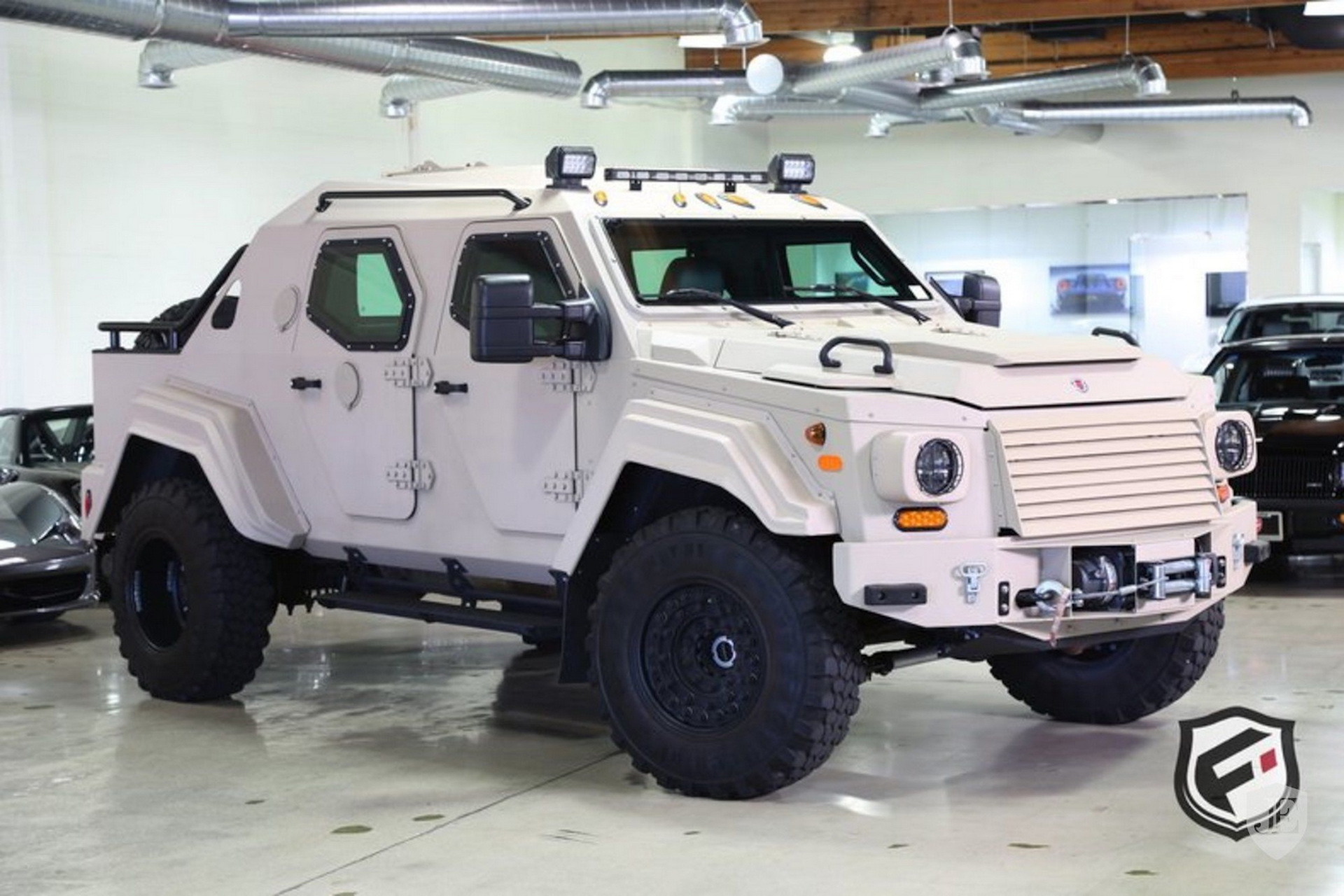 Terradyne Gurkha Is A Wild Armored Suv And It S For Sale