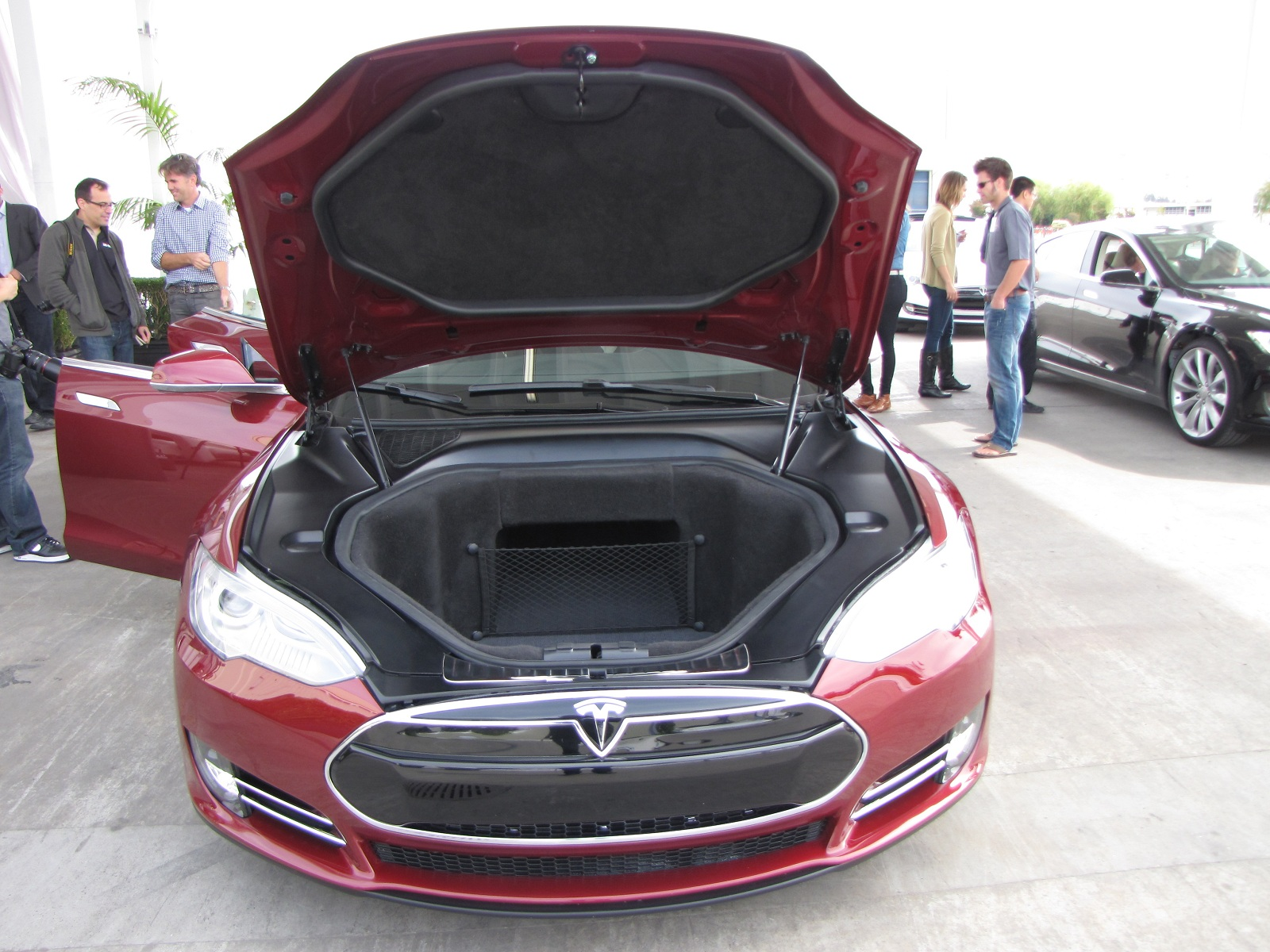 how much space is there inside a 2012 tesla model s anyway. Black Bedroom Furniture Sets. Home Design Ideas