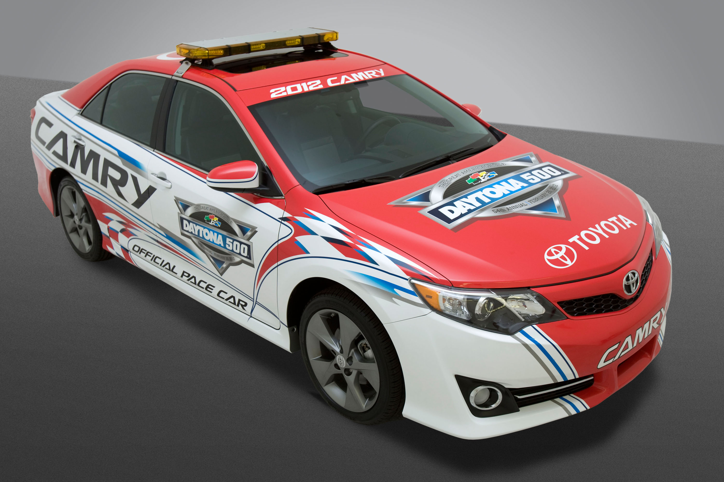 2012 Toyota Camry Revealed Set To Pace Daytona 500