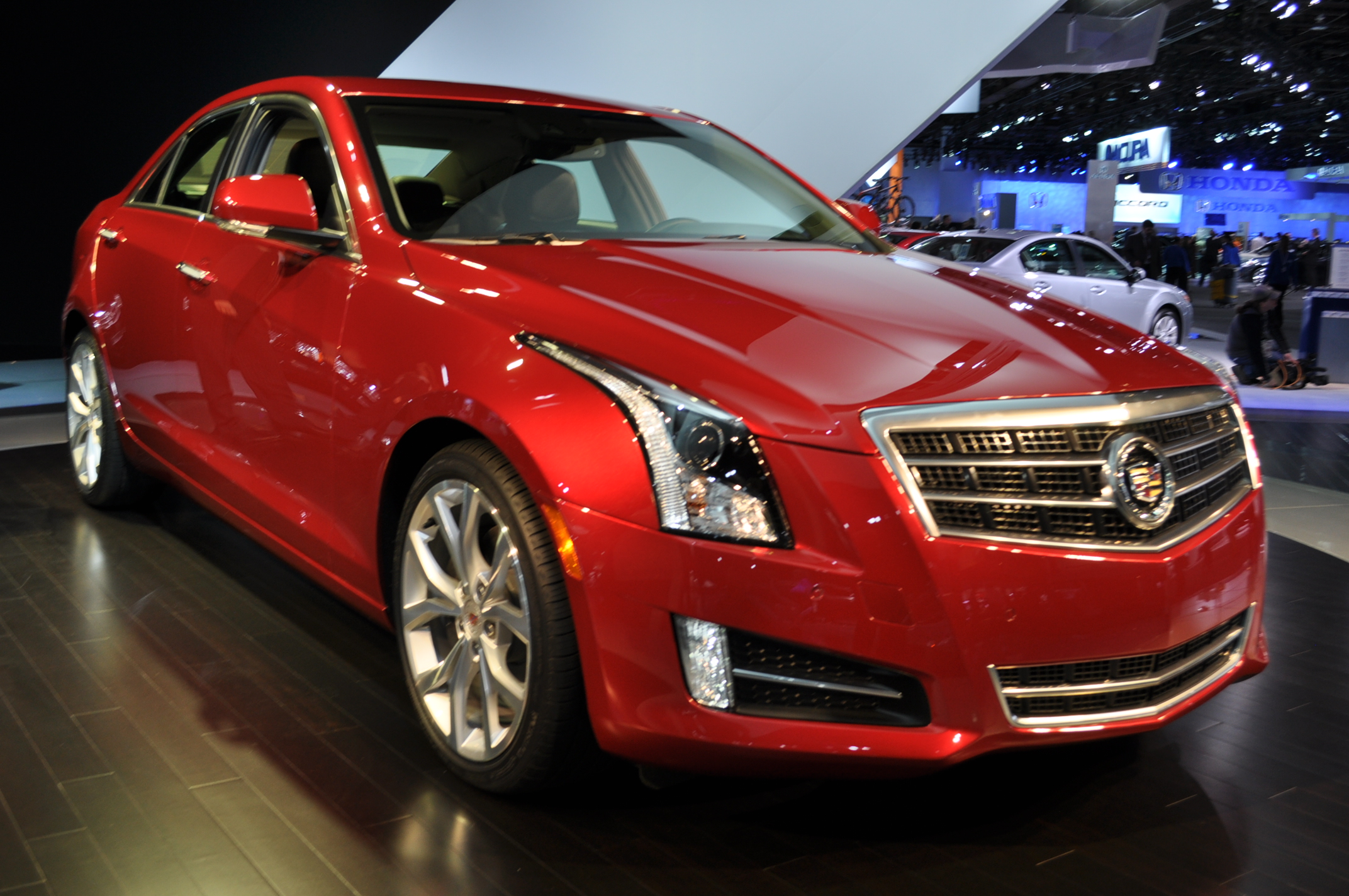 Audi 0 60 >> 2013 Cadillac ATS: 0-60 MPH In 5.4 Seconds