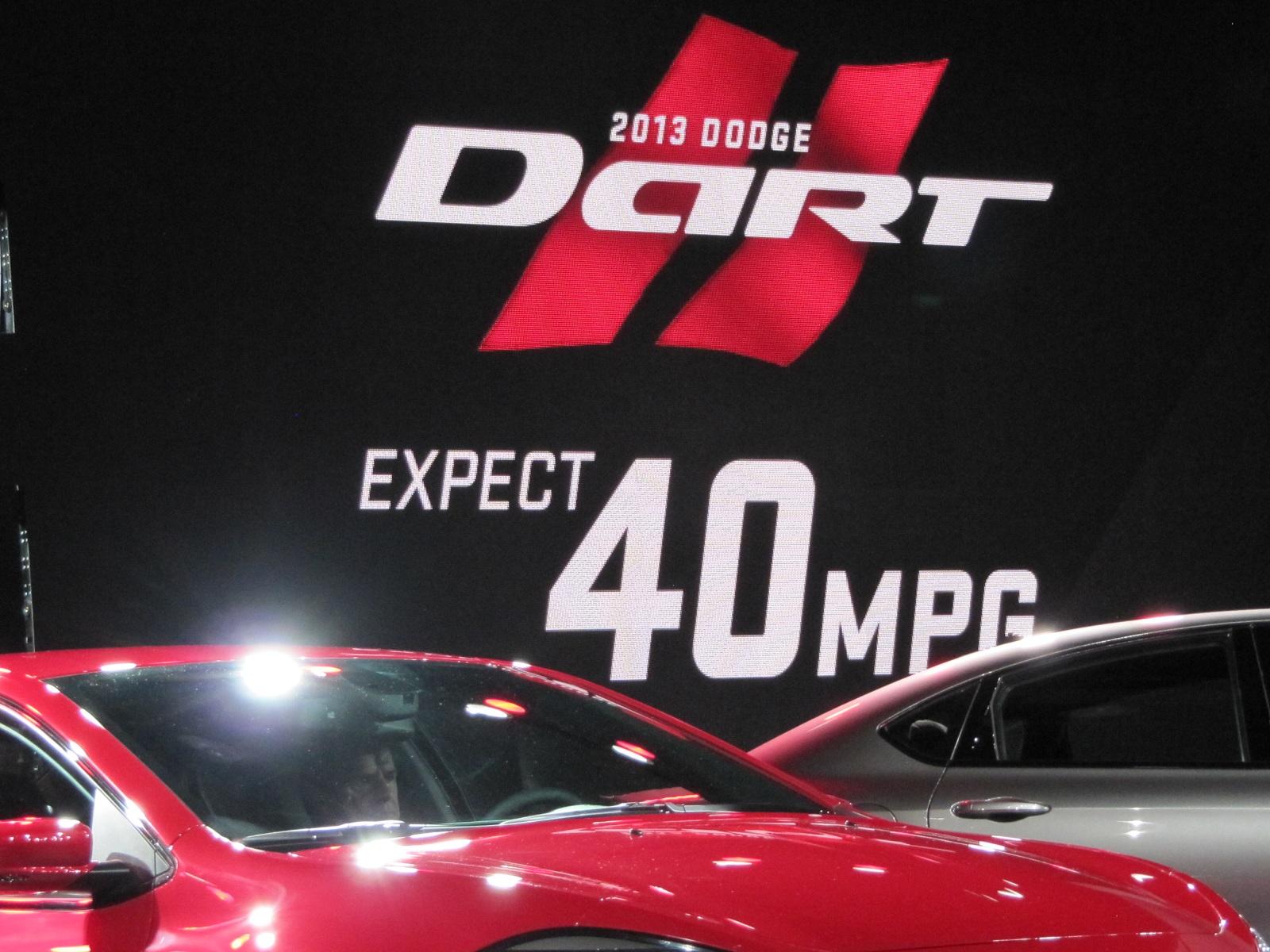 2013 Dodge Dart Live Photos: 2012 Detroit Auto Show