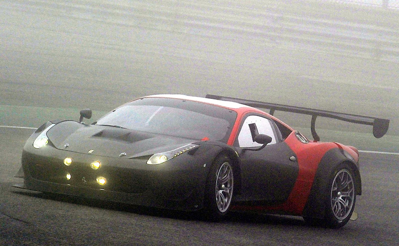 2013 Ferrari 458 Gt3 Race Car Spy Shots