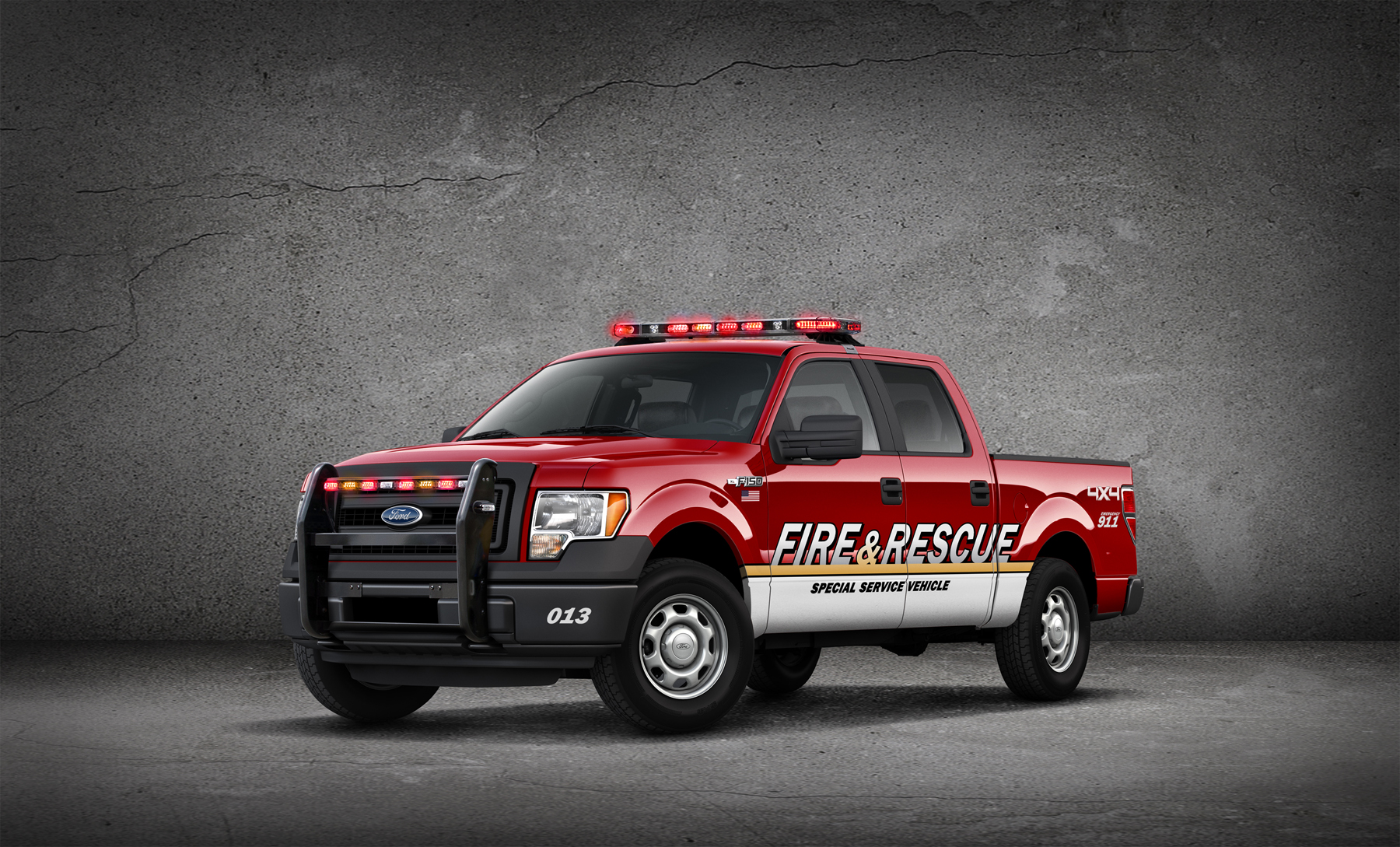 2013 Ford F 150 Xl Ready For Emergency And Adam 12