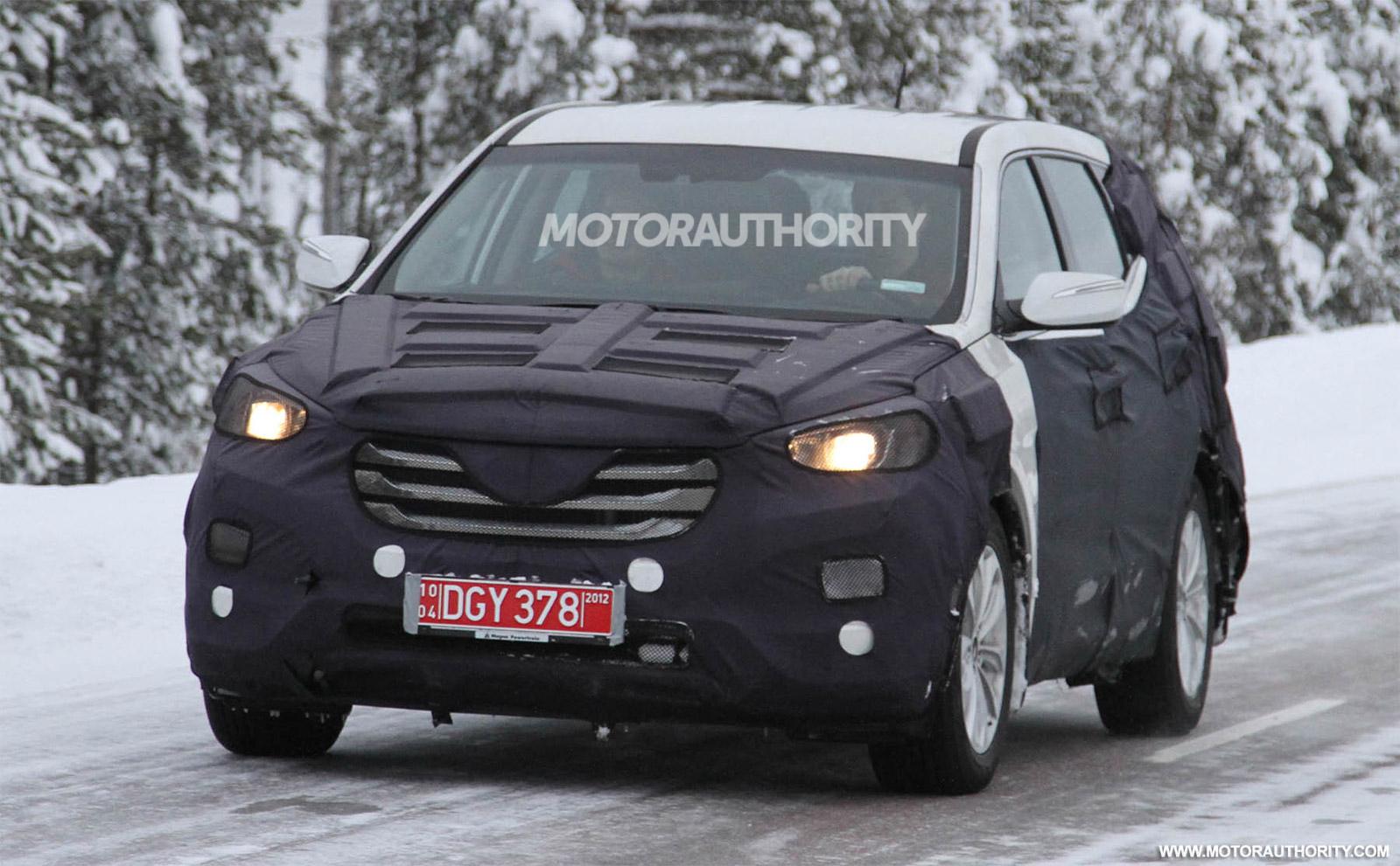 2013 Hyundai Santa Fe Ix45 Spy Shots