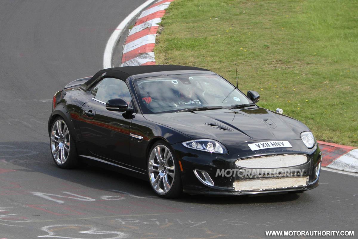 2013 Jaguar XE Coupe Test Mule Spy Shots