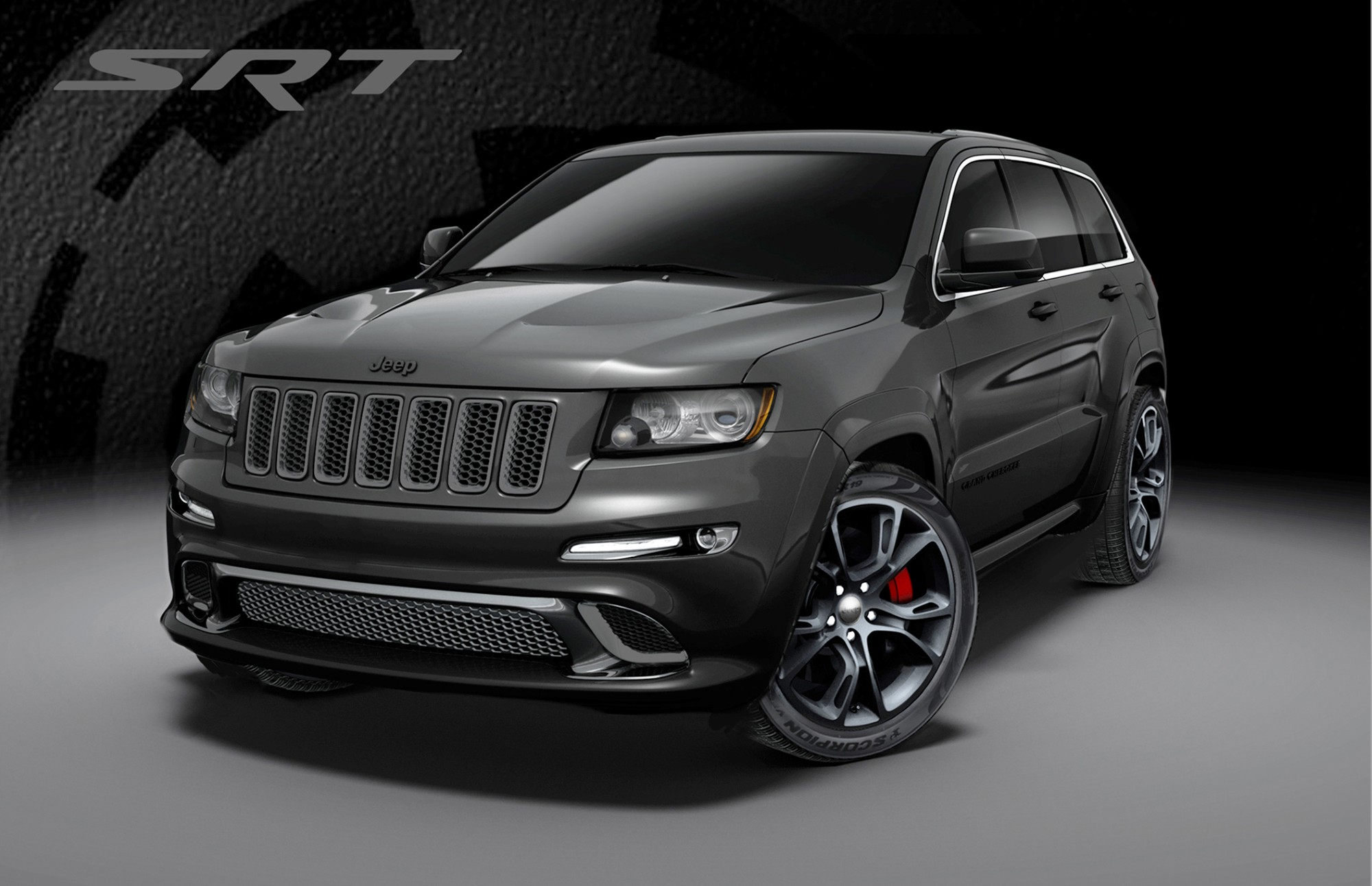 2013 Jeep Grand Cherokee SRT8 Special Editions: Alpine, Vapor
