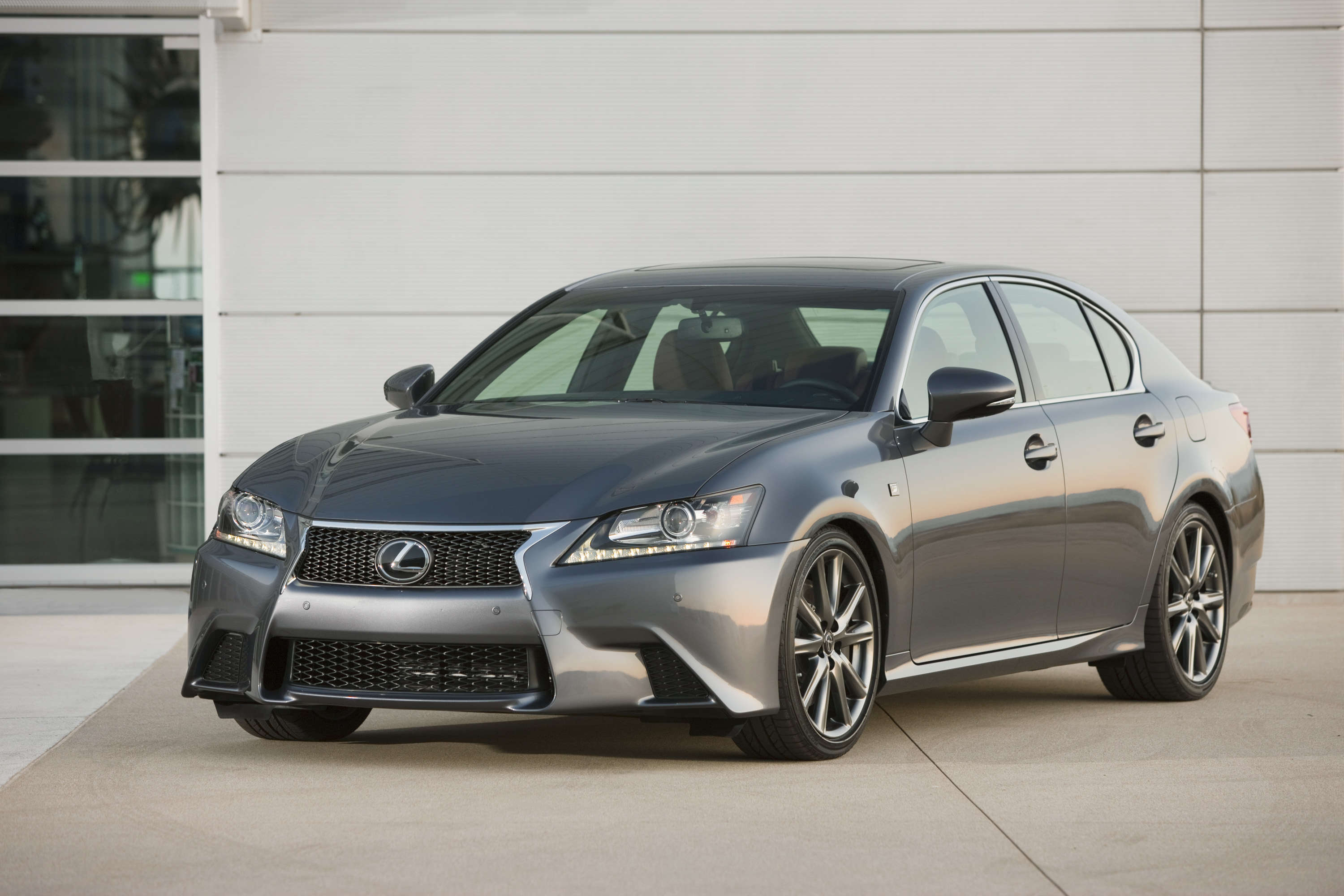 2013 Lexus Gs Named An Iihs Top Safety Pick