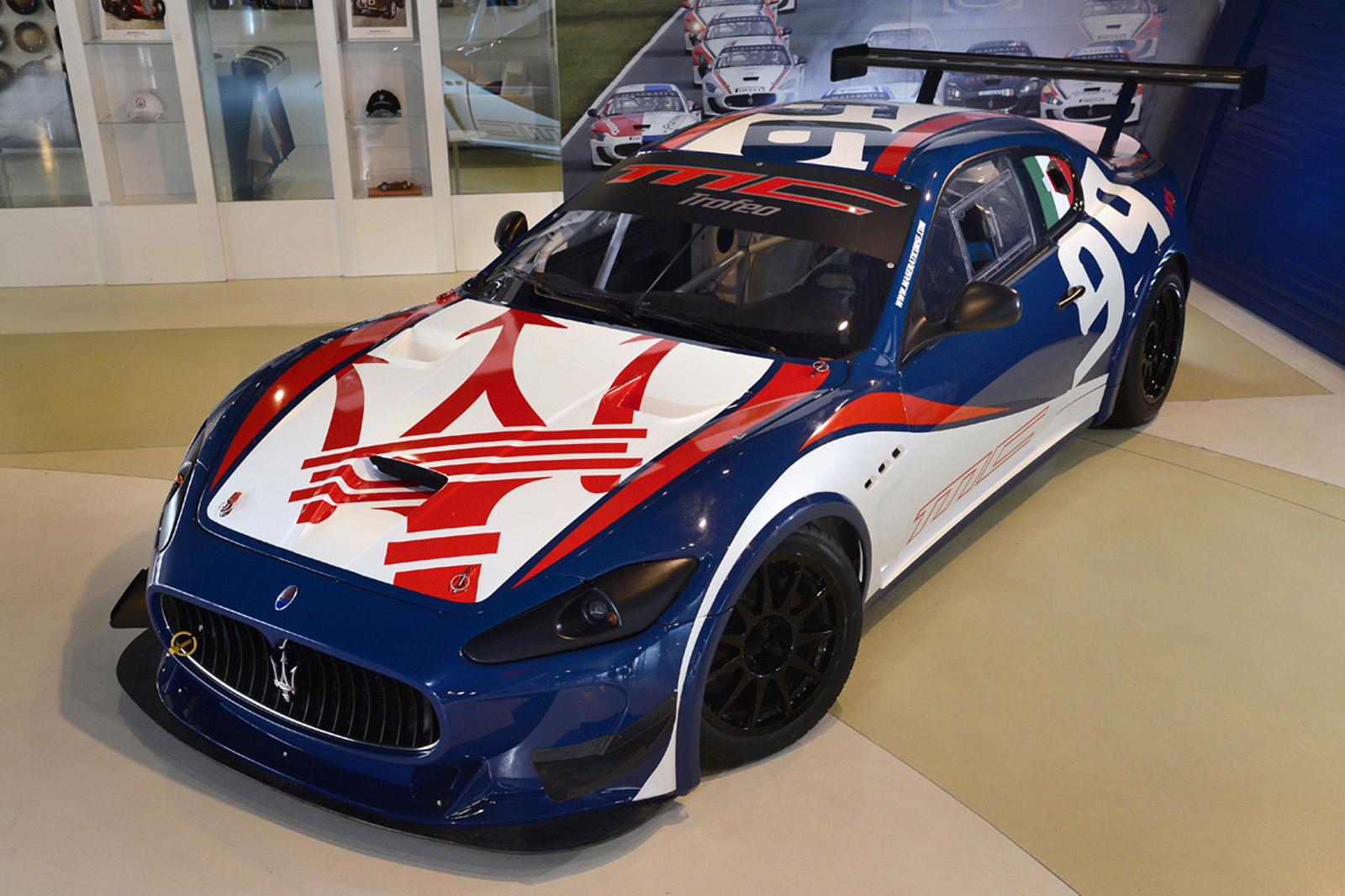 2013 Maserati Granturismo Mc Trofeo Race Car Revealed