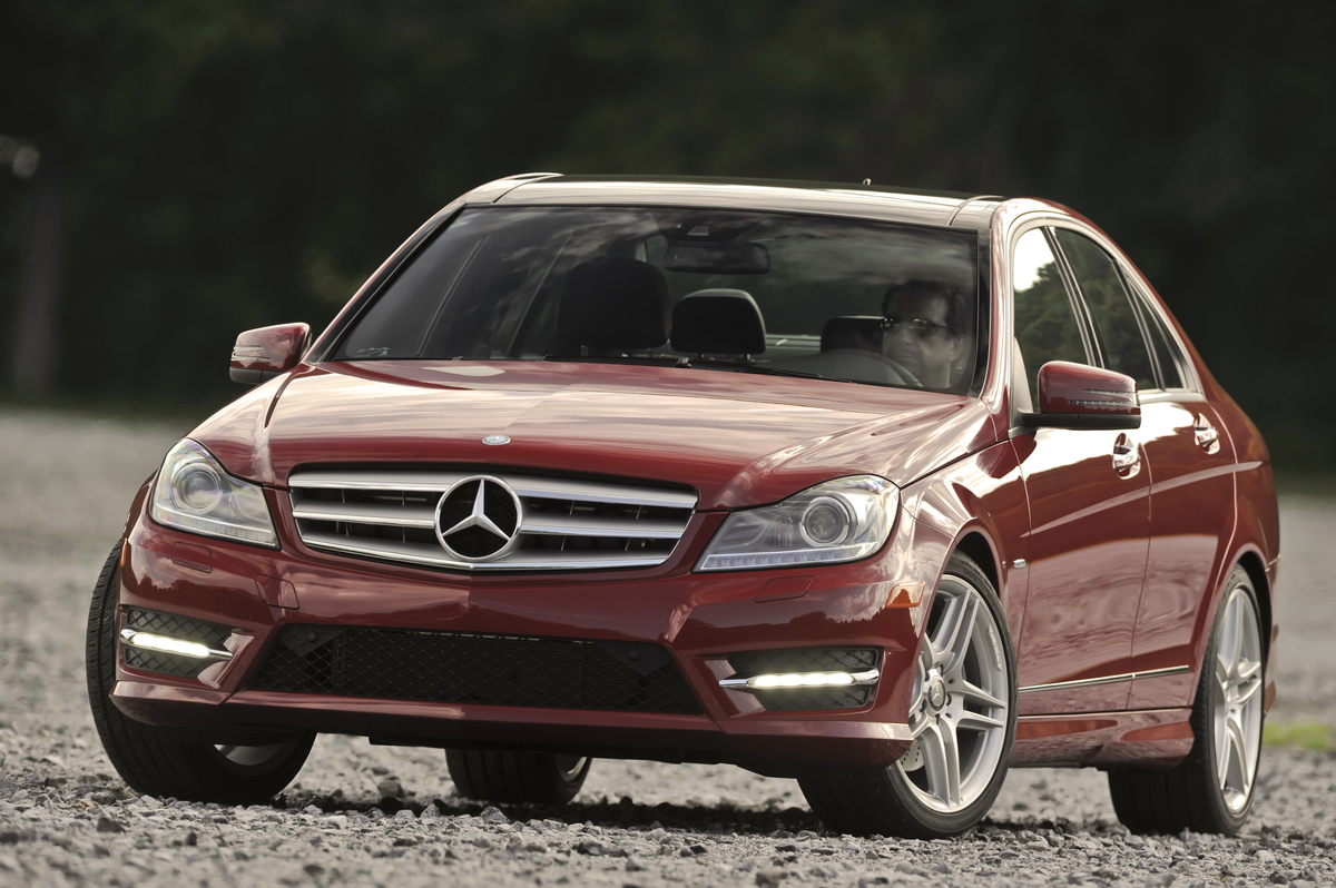 Mercedes c class tops list of most stolen luxury cars in for Mercedes benz list of cars