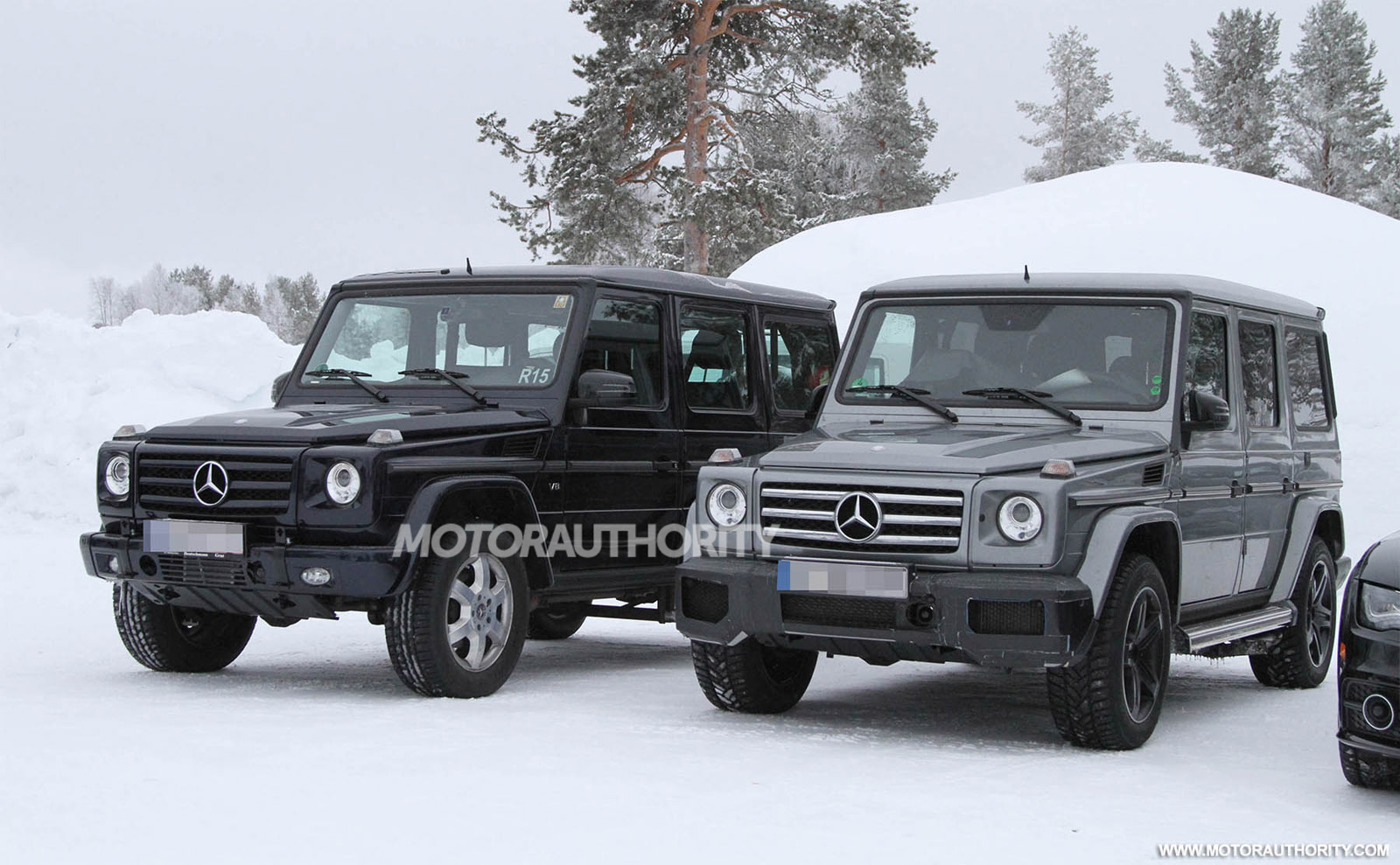 2013 Mercedes Benz G63 Amg Spy Shots