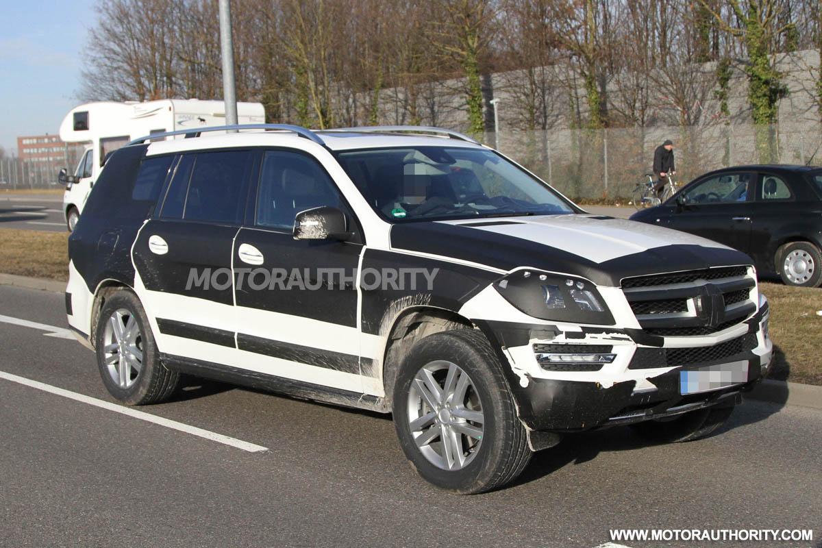2013 Mercedes Benz Gl Class Spy Shots