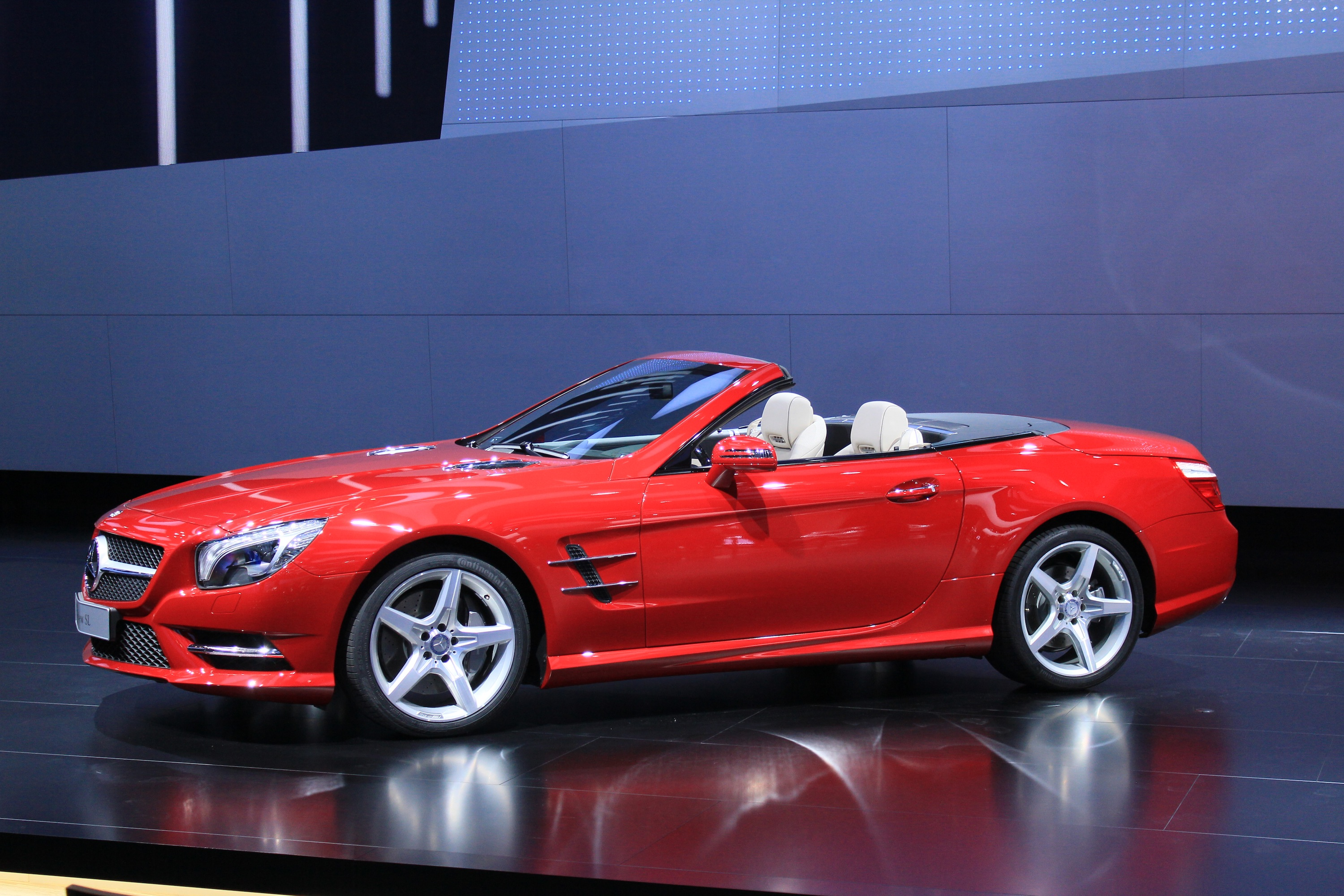 2013 Mercedes Benz Sl 550 First Drive