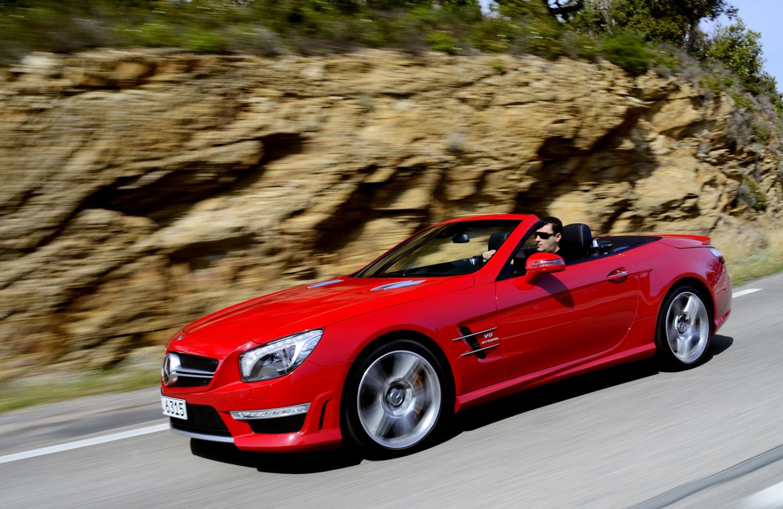 Chris Harris Tests The 2013 Mercedes-Benz SL63 AMG: Video