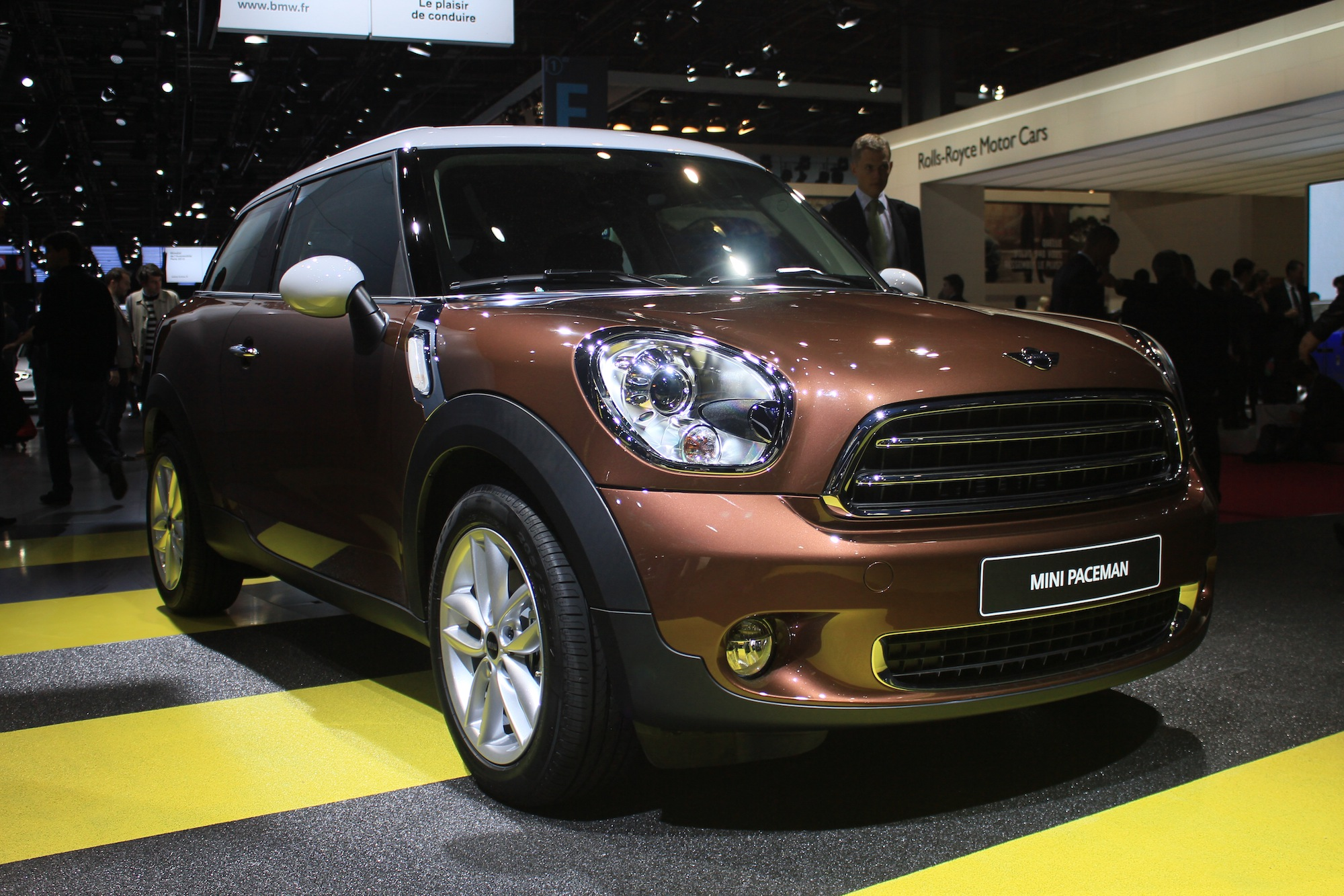 Mini prices the paceman and the john cooper works gp for Garage mini paris