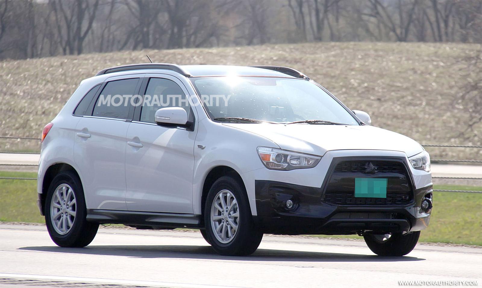 2013 Mitsubishi Outlander Sport Spy Shots