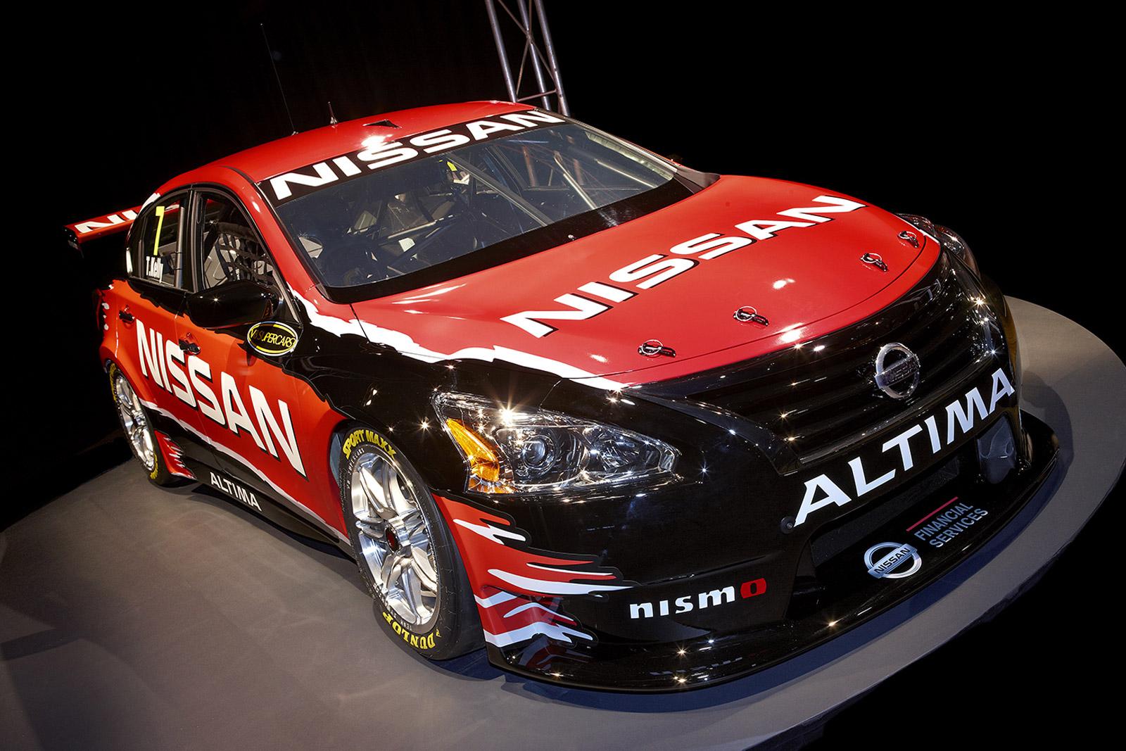 Nissan Altima V8 Supercars Race Car Revealed