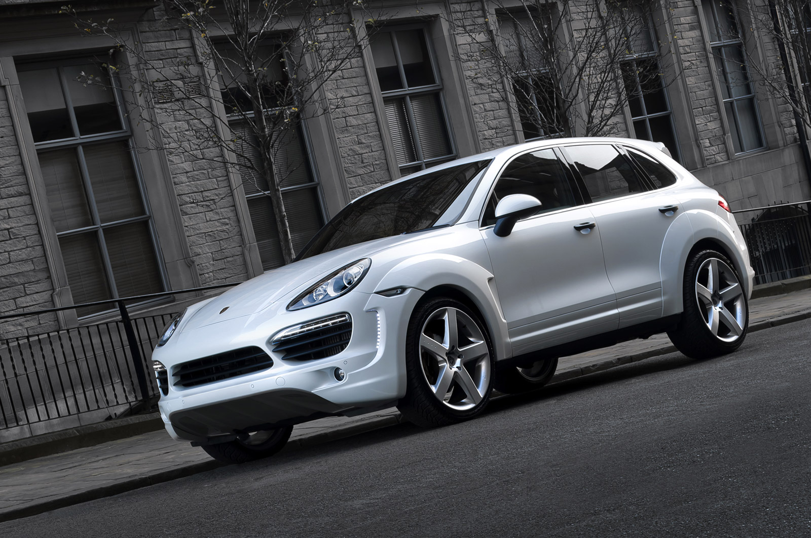 Give Your Porsche Cayenne Diesel A Makeover With A Kahn Design