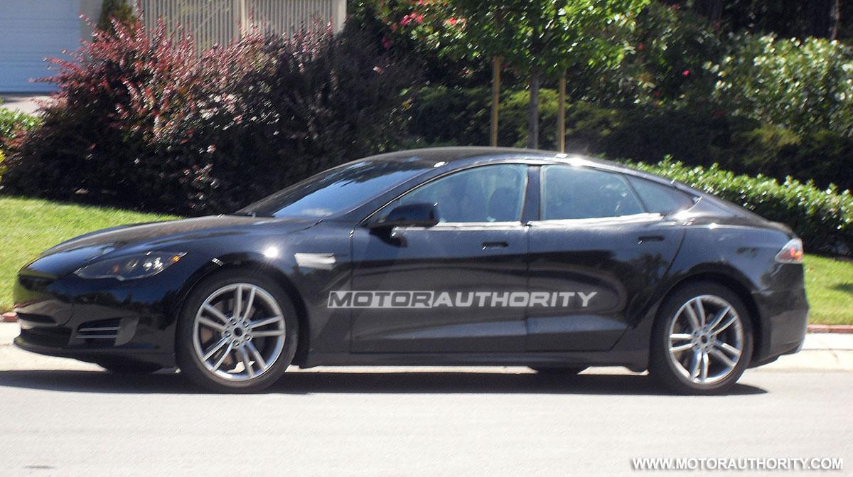 Nissan Frontier Pro 4x >> 2012 Tesla Model S Prototype Spy Shots: Exclusive