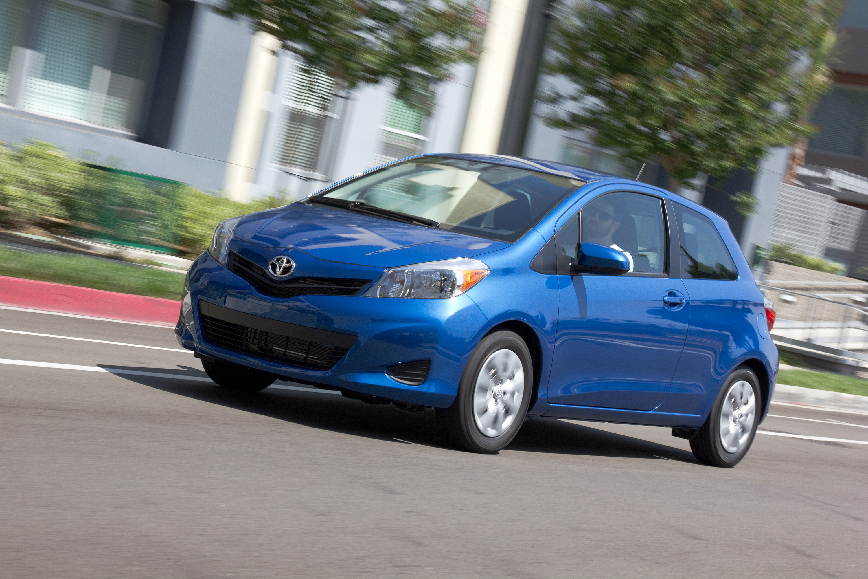 2013 toyota yaris review ratings specs prices and. Black Bedroom Furniture Sets. Home Design Ideas