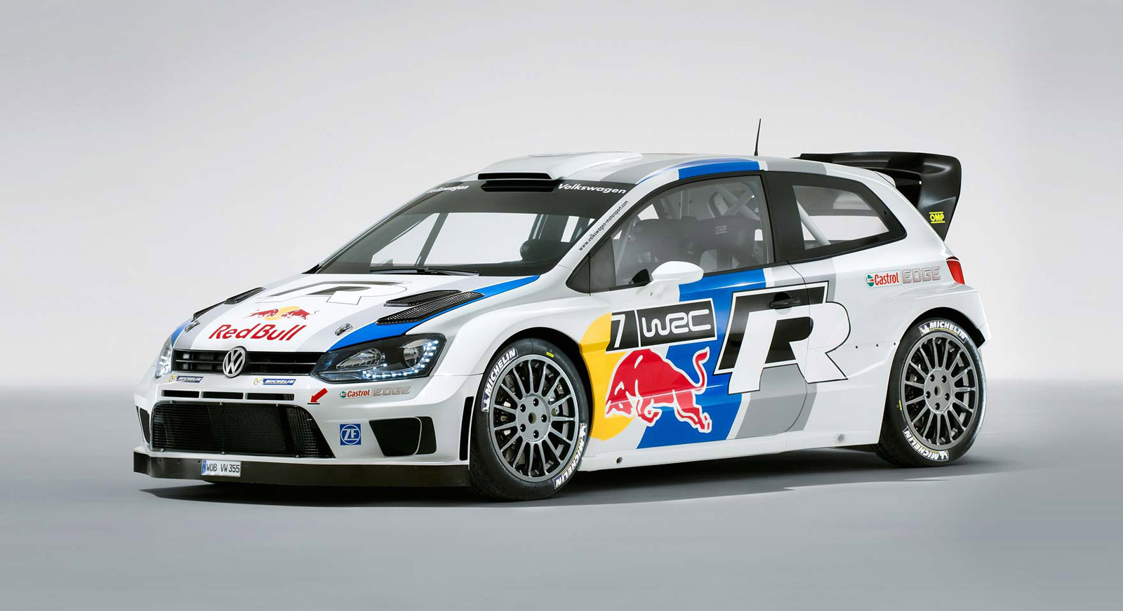 Volkswagen Polo R WRC Attacks A Rally Stage In Slow Motion ...