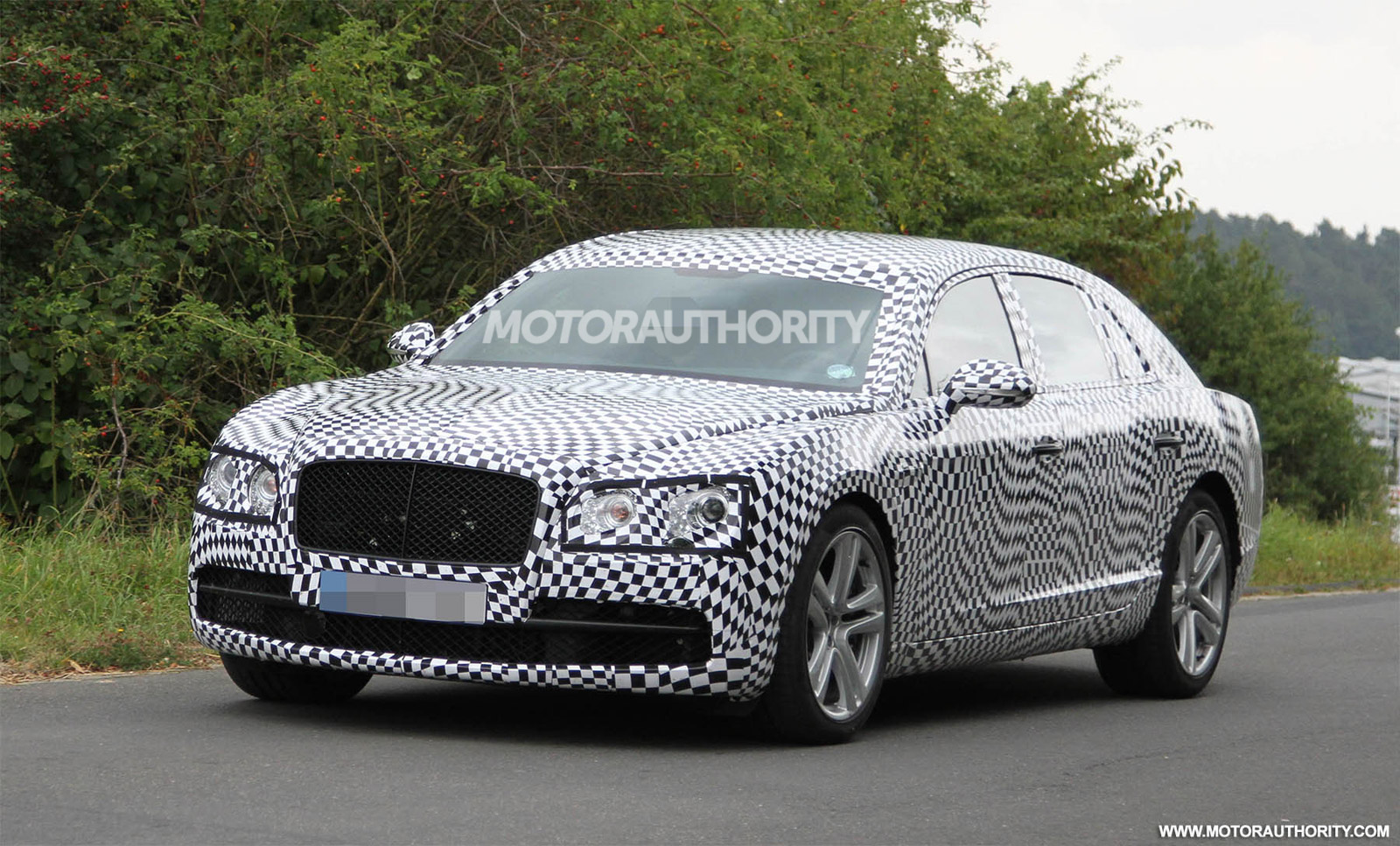 2014 bentley continental flying spur v8 spy shots vanachro Image collections