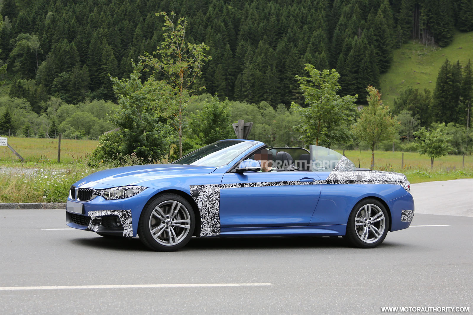 2014 Bmw 4 Series Convertible Spy Shots