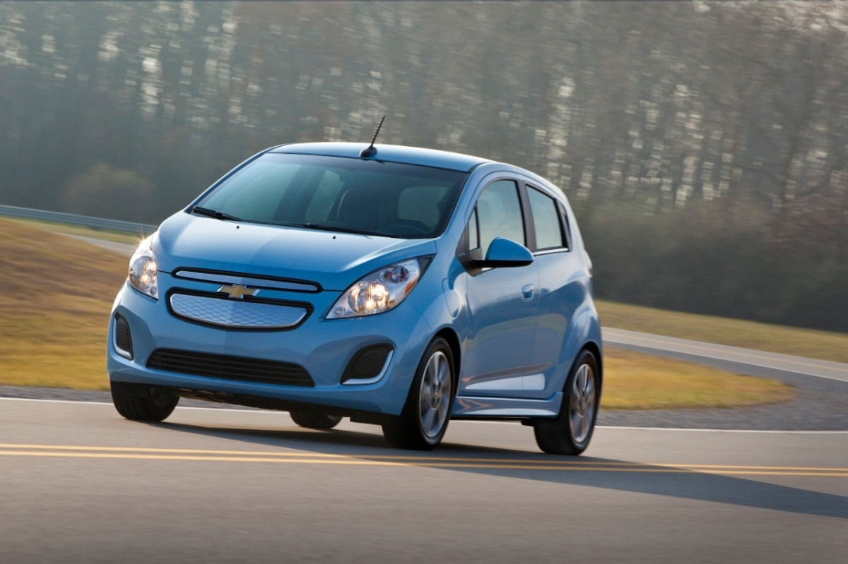 2014 Chevy Spark EV First With CCS QuickCharge Port As Option