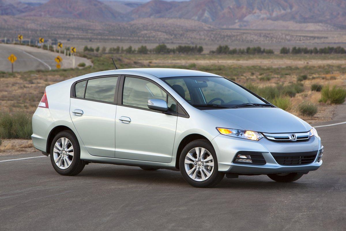 Honda Ends Three Green Models For 2015 Insight Fit Ev