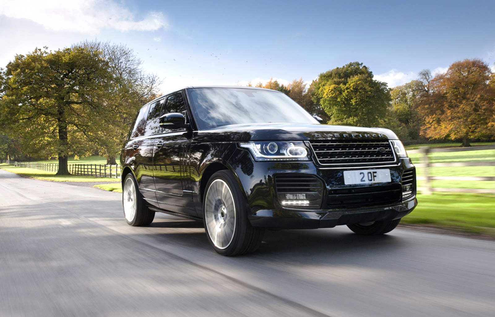 2014 Land Rover Range Rover Worked Over By Overfinch