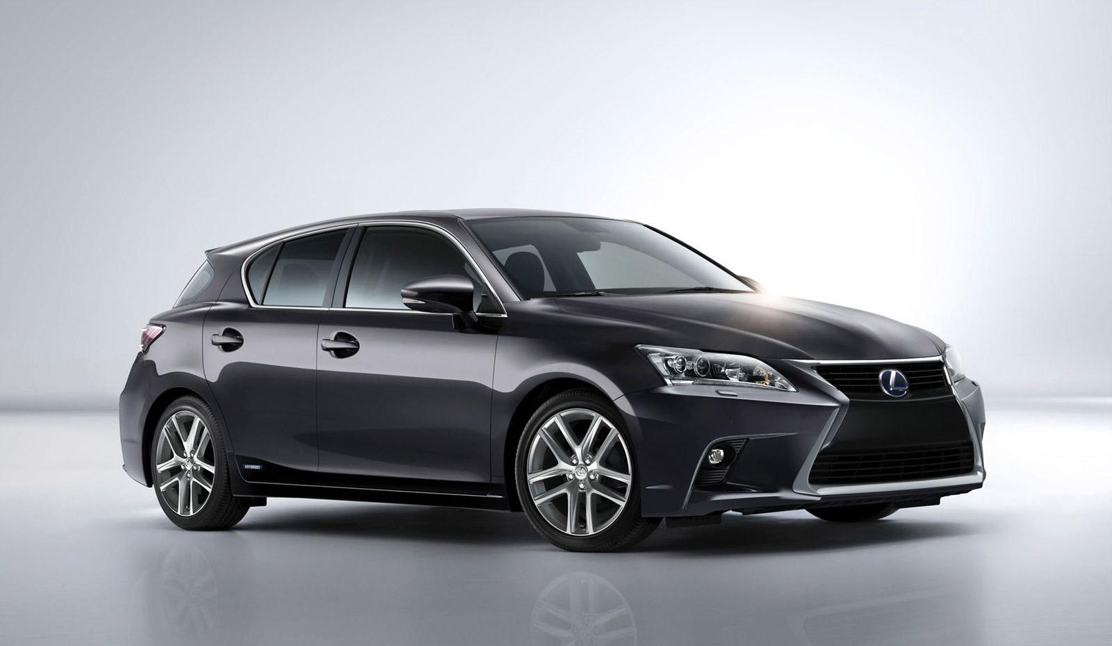 Prix Lexus CT200h : compacte hybride, photos mondial 2010, coffre